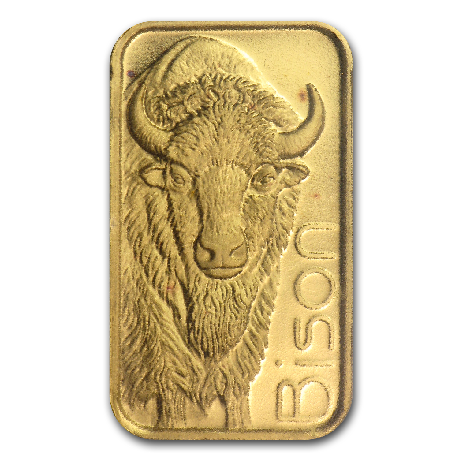 1/10 oz Gold Bar - Bison
