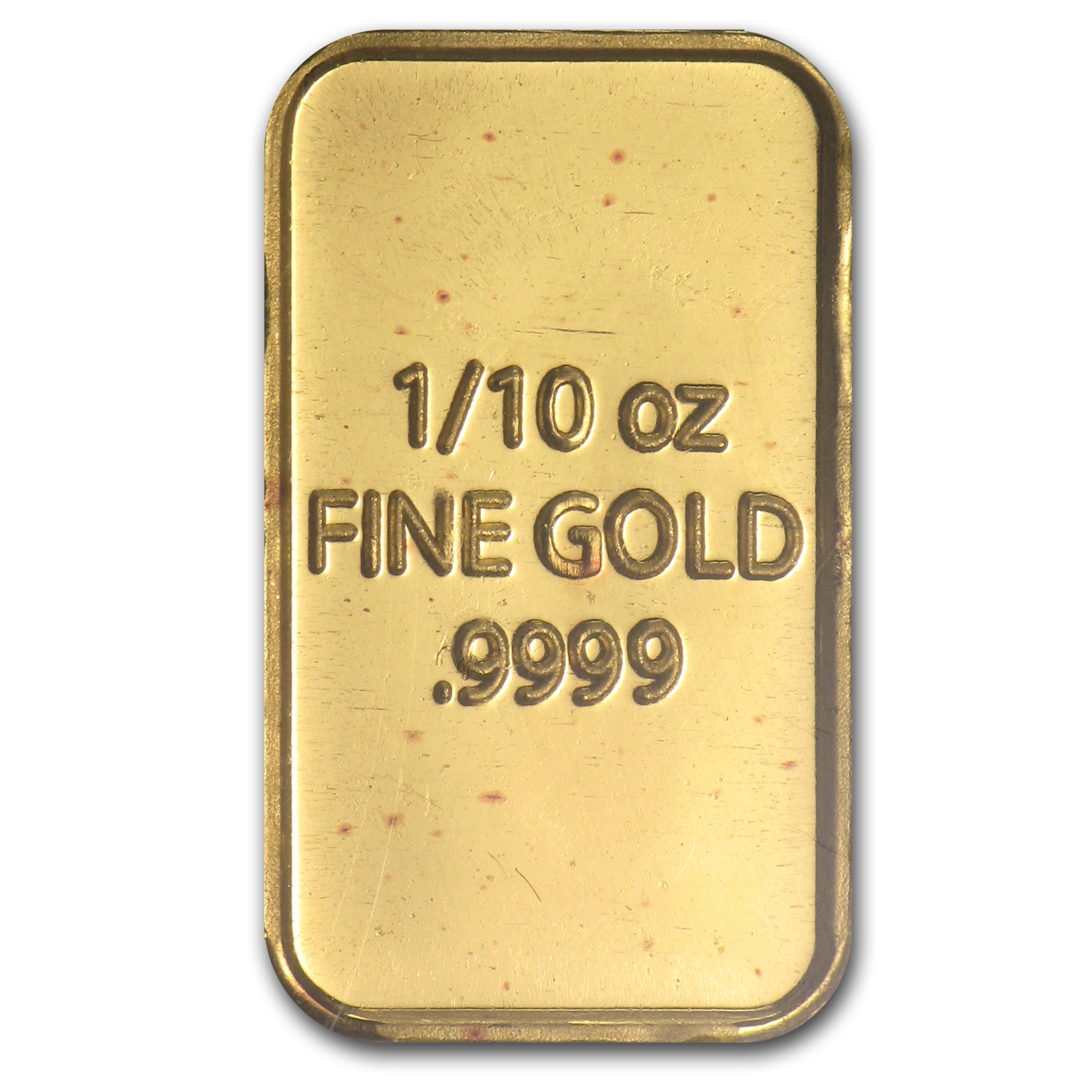 1/10 oz Gold Bar - Bison (In Assay)