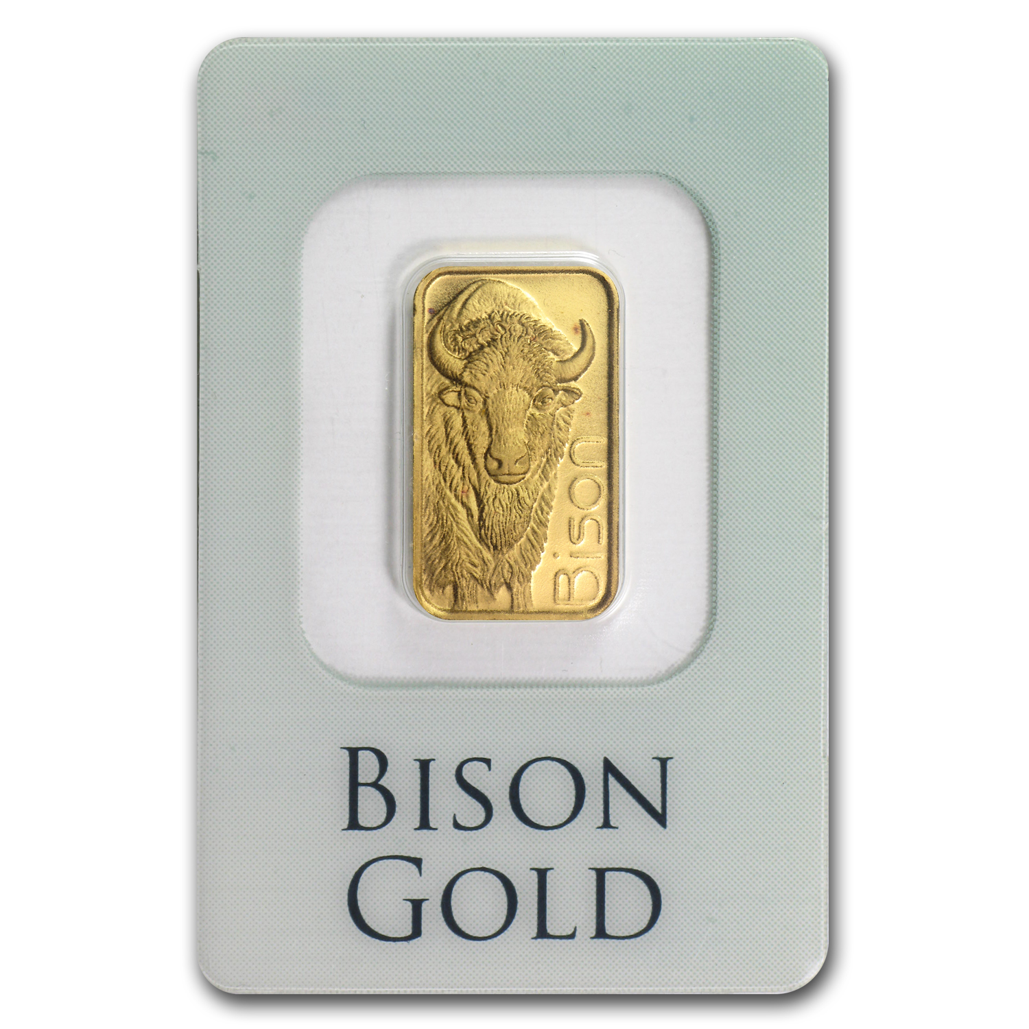 1/10 oz Gold Bar - Johnson Matthey (Bison, In Assay)