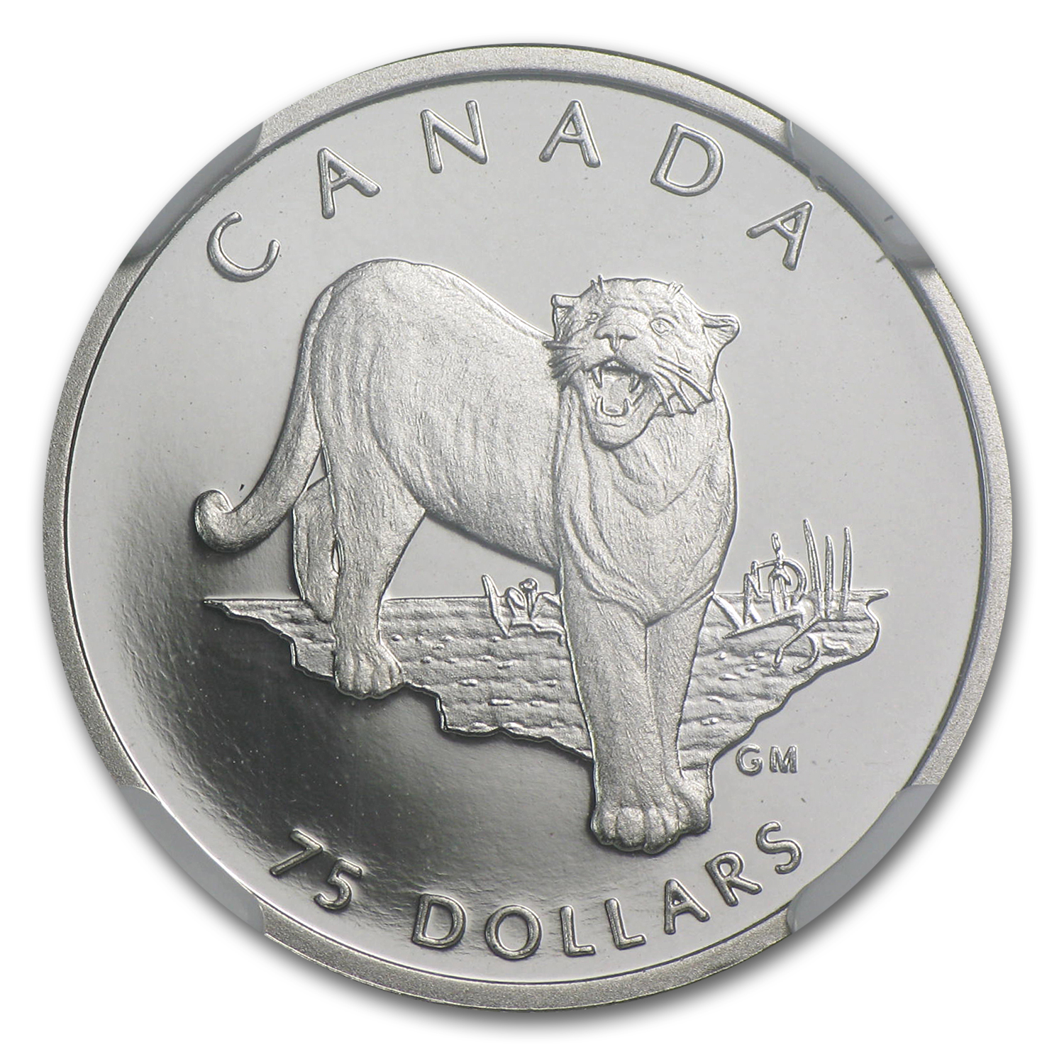 1992 Canada 1/4 oz Proof Platinum Cougar PF-70 NGC