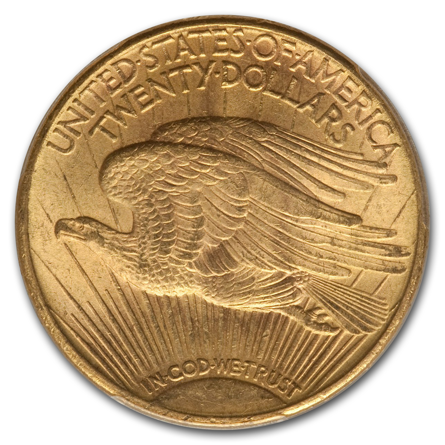 1915-S $20 St. Gaudens Gold Double Eagle MS-65+ PCGS