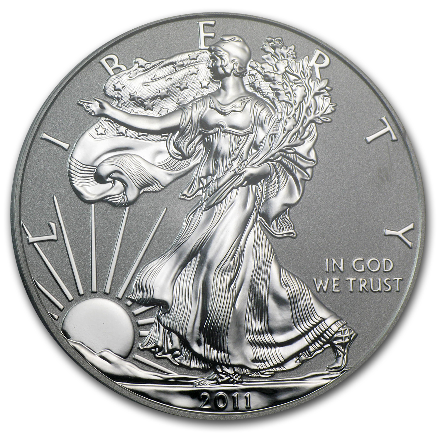 2011-P 1 oz Reverse Proof Silver Eagle (Capsule Only)