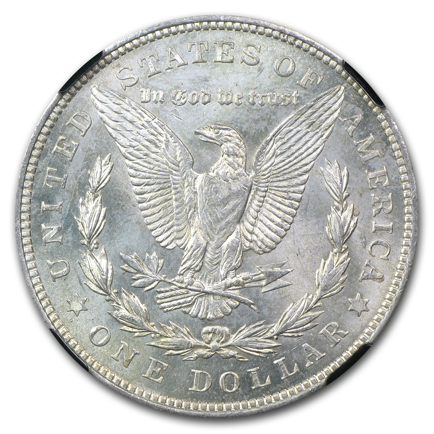 1921 Morgan Dollar - MS-64 NGC (25th Anniversary Holder)