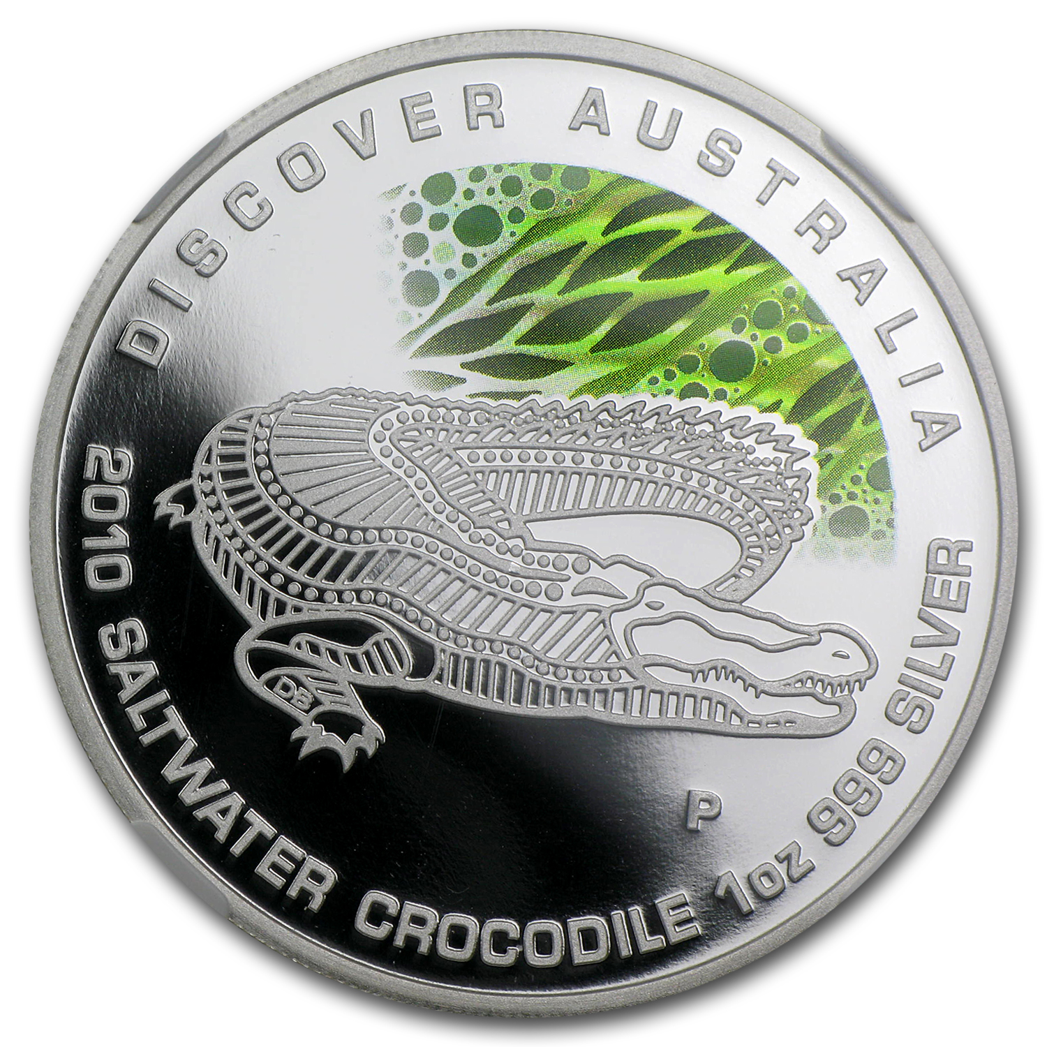 2010 1 oz Proof Silver Crocodile- Dreaming NGC PF-69 UCAM