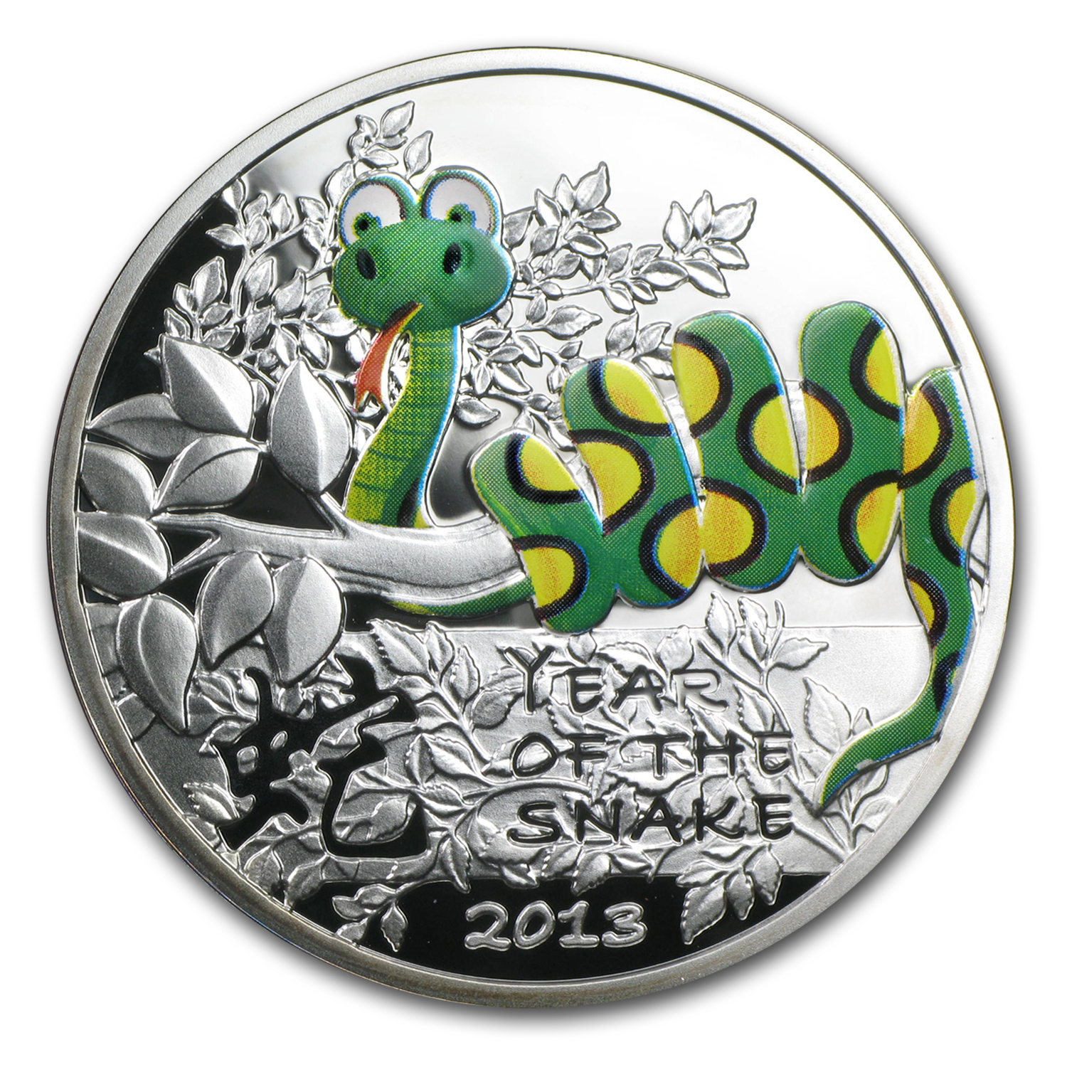 2013 Niue Proof $1 Year of the Snake Fairy Tale Snake
