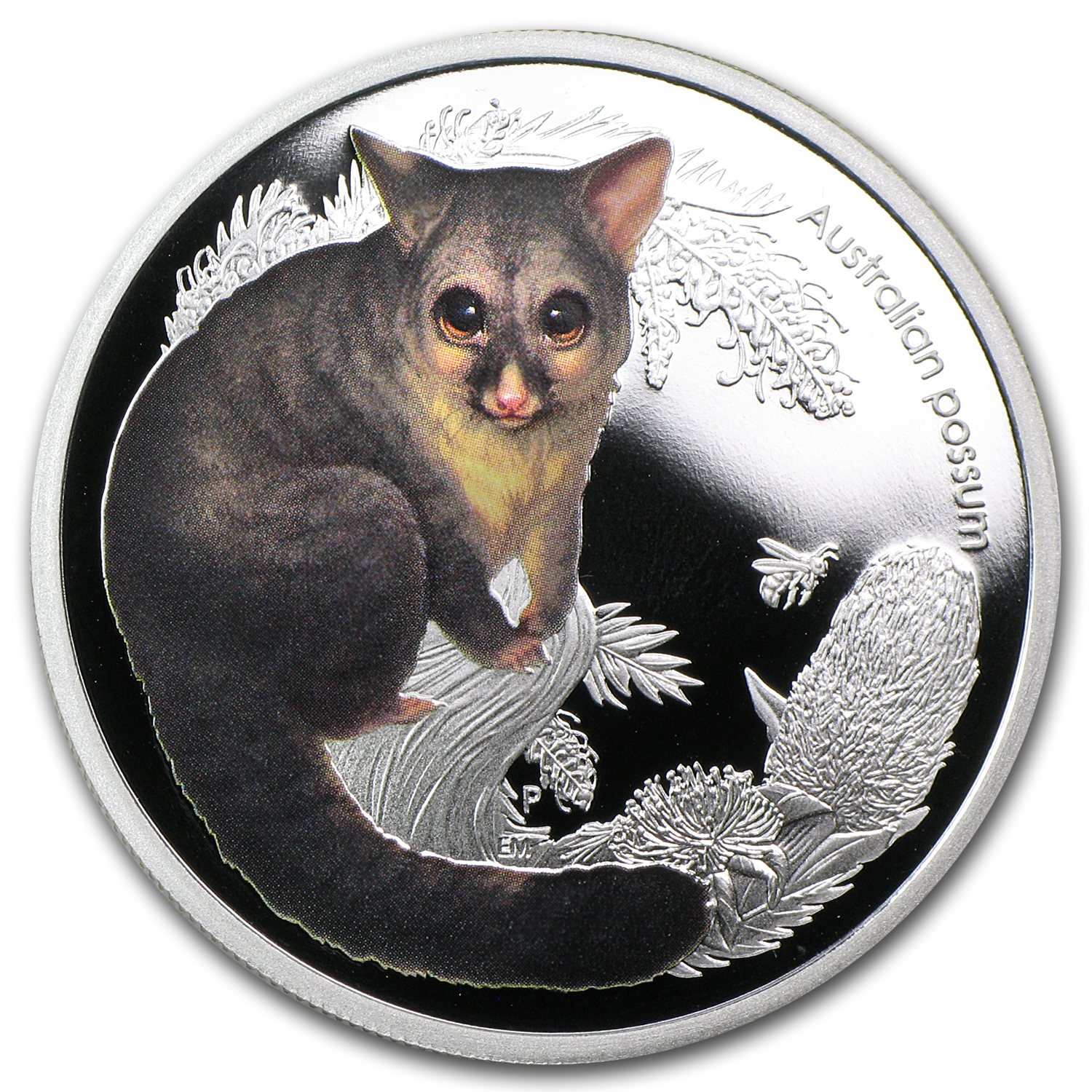 2013 Australia 1/2 oz Silver Bush Babies II Possum Proof