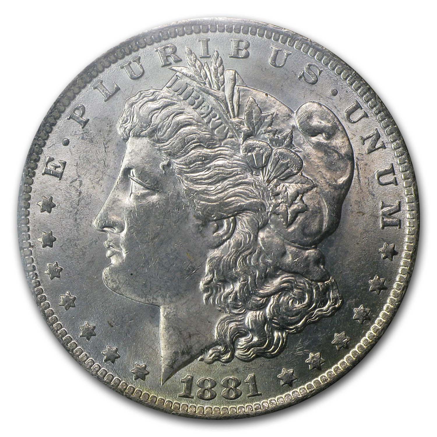 1881-O Morgan Dollar MS-63 (GSA Soft Pack)