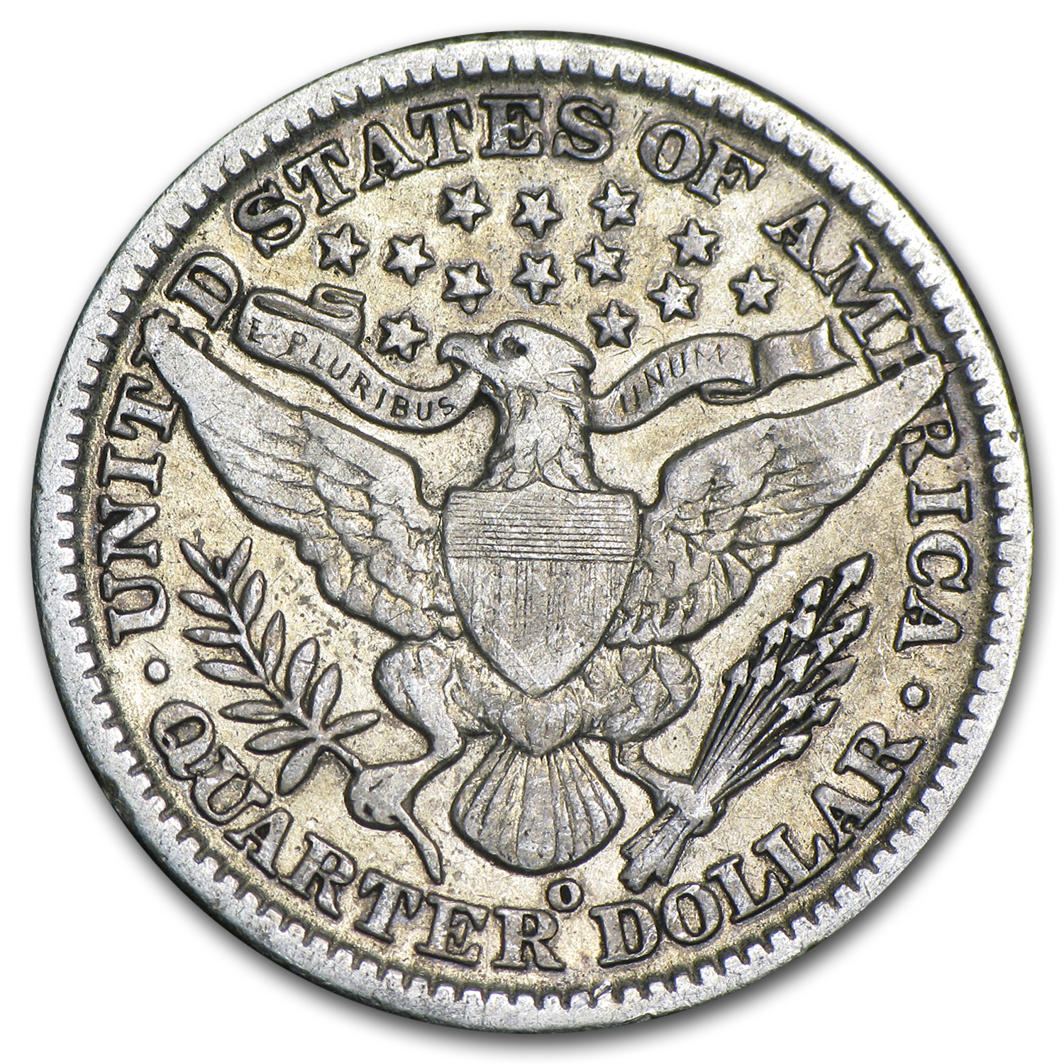 1902-O Very Fine Barber Quarter
