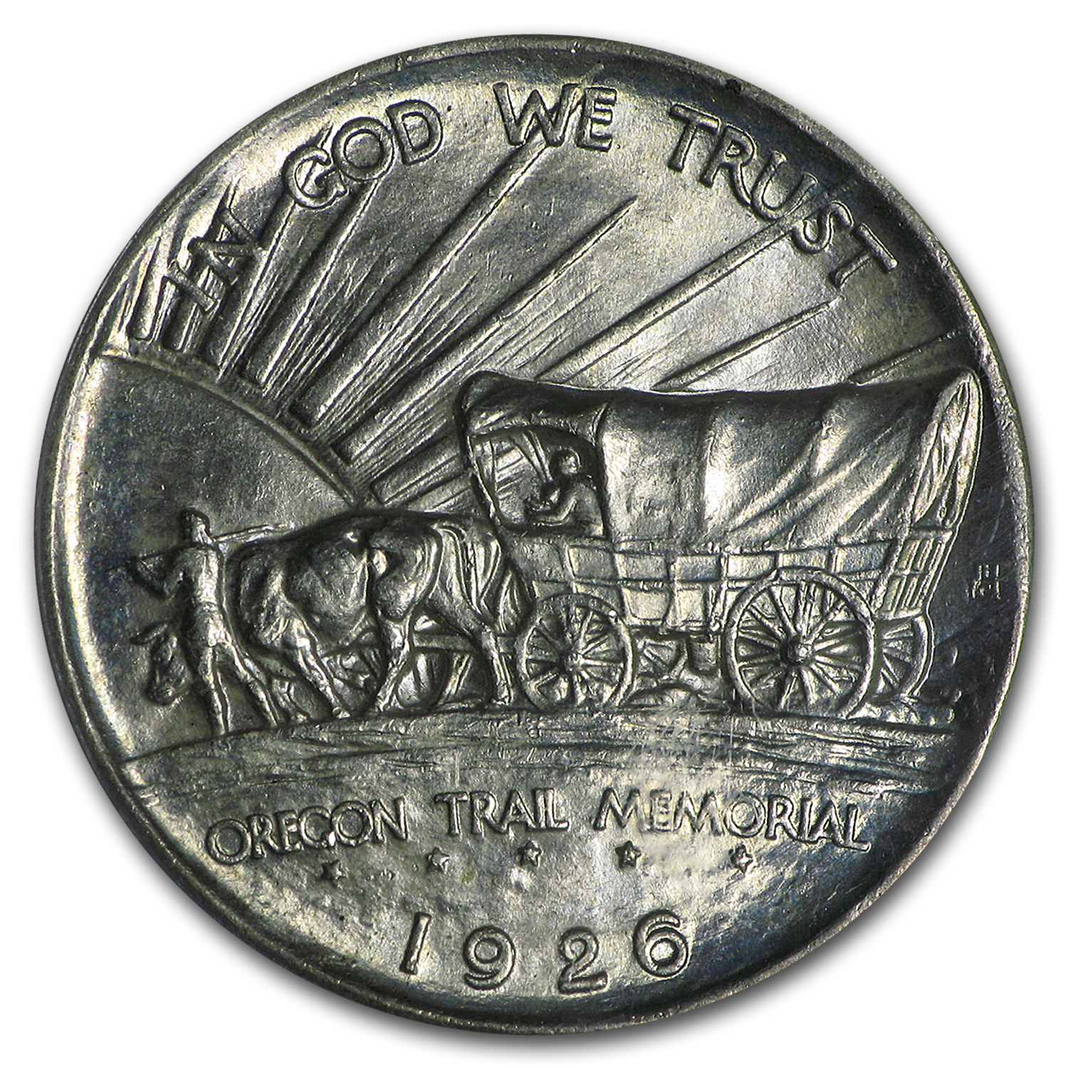 1926 Oregon Trail Memorial MS-64 PCGS