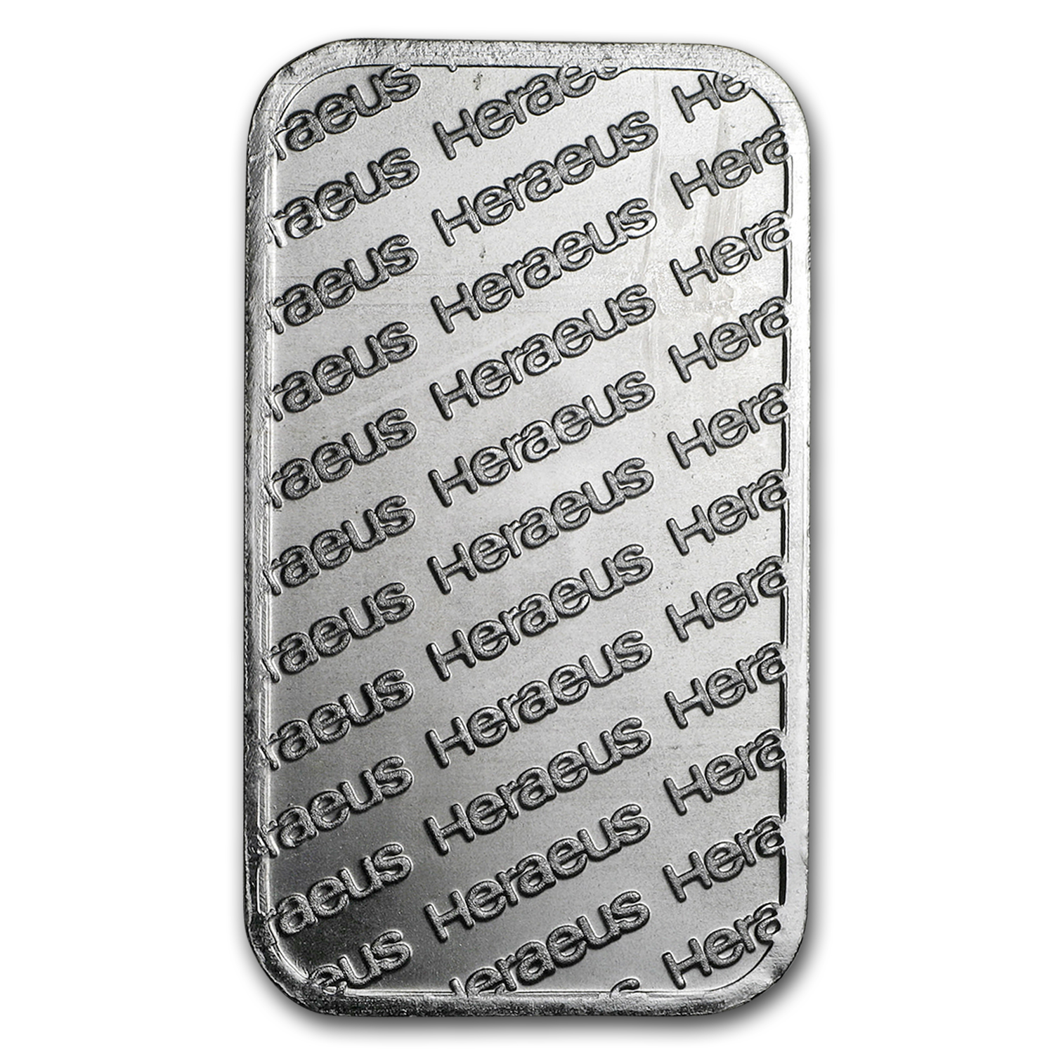 1 oz Silver Bars - Heraeus (Secondary Market)