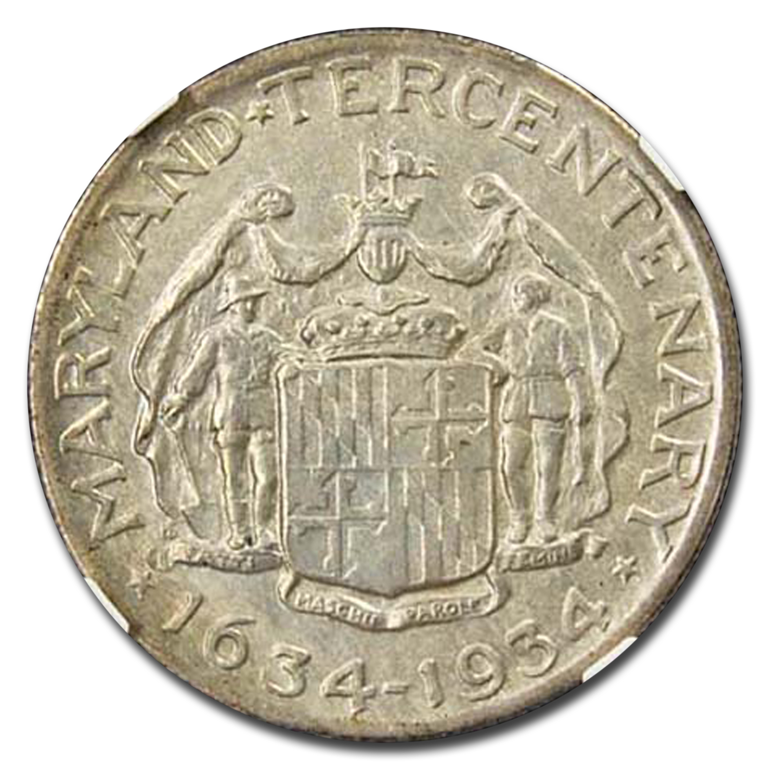 1934 Maryland Tercentenary MS-63 NGC