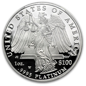 2008-W 1 oz Proof Platinum American Eagle PR-69 PCGS