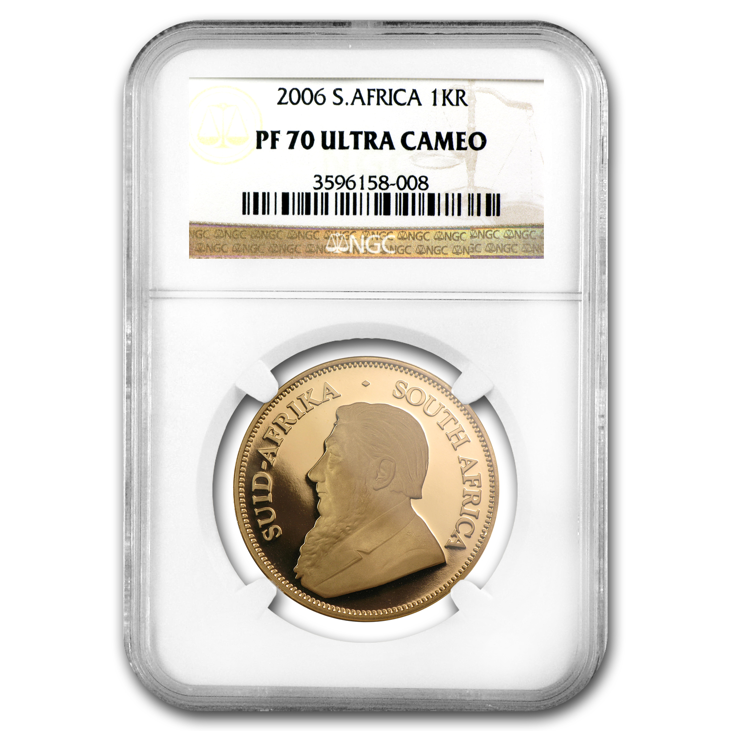 2006 South Africa 1 oz Gold Krugerrand PF-70 NGC