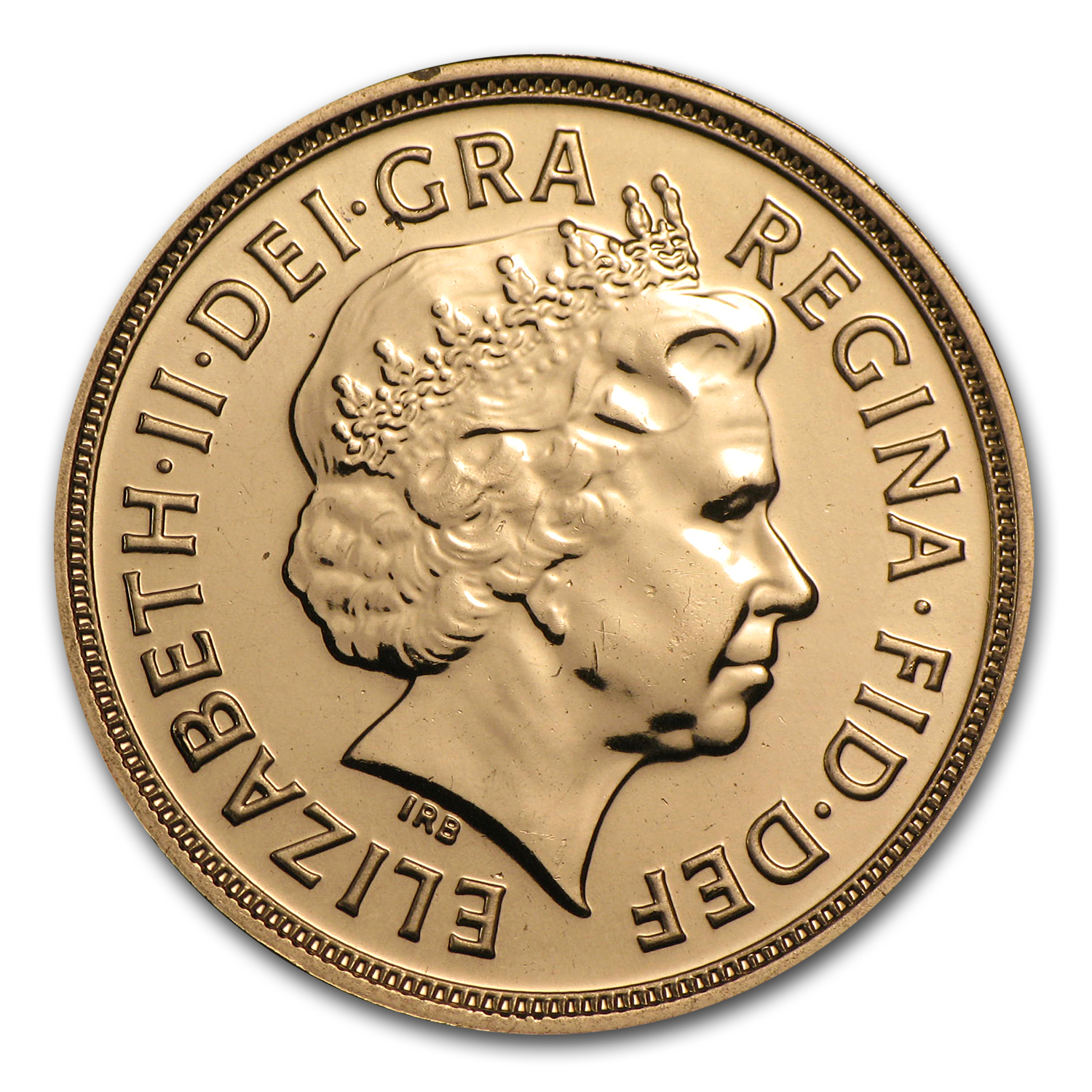 2013 Great Britain Gold Sovereign BU