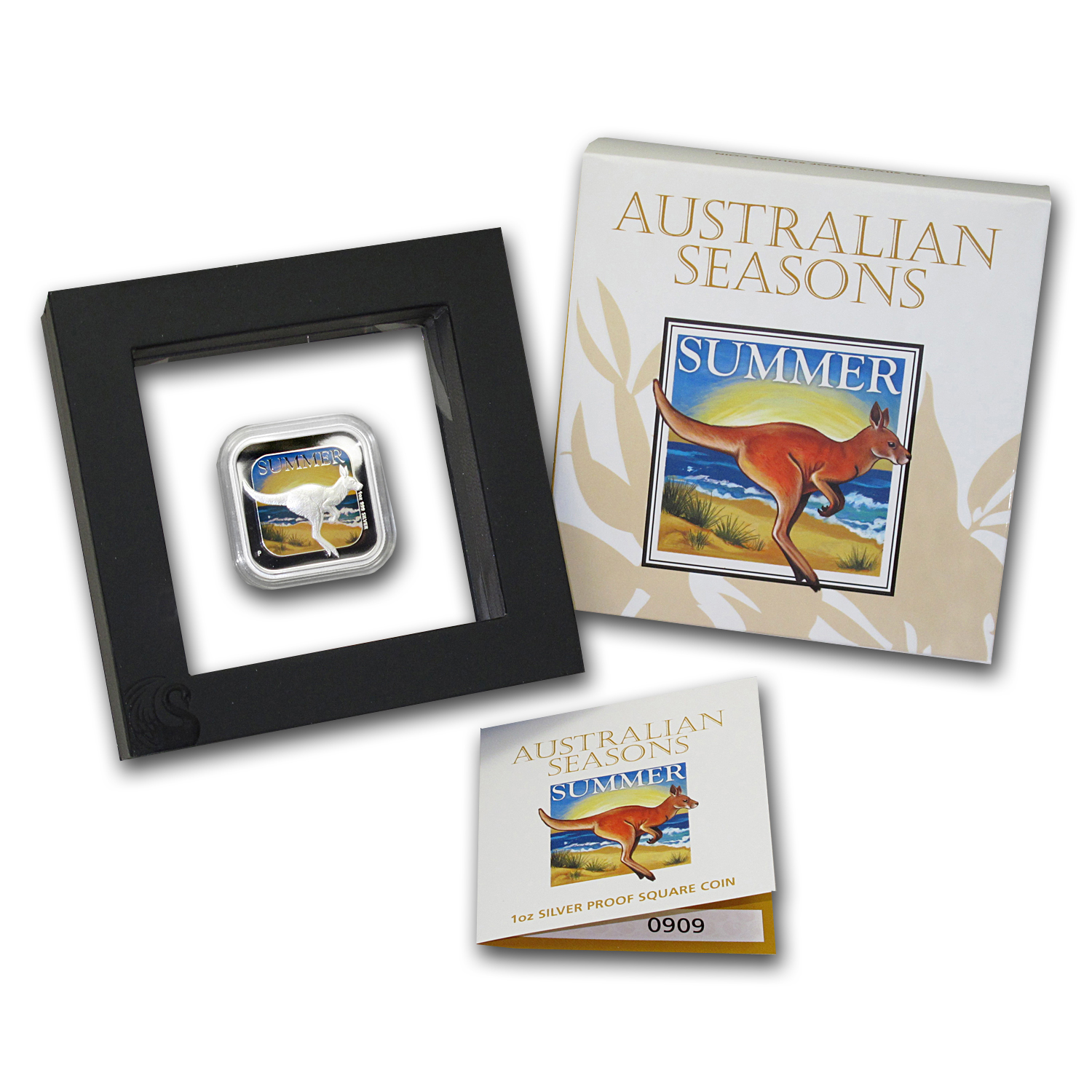 2013 Australia 1 oz Silver Seasons Summer Proof