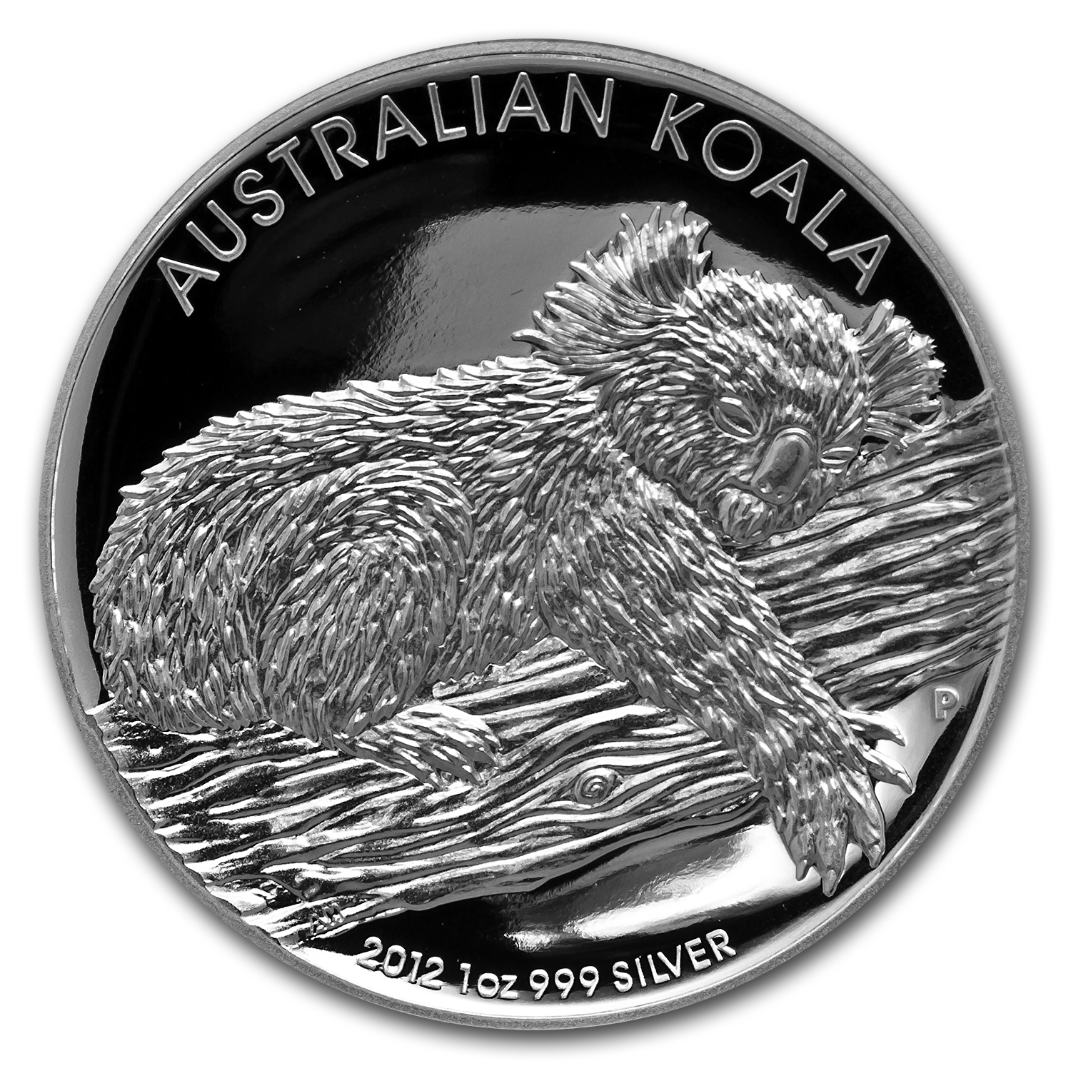2012 Australia 4-Coin 1 oz Silver Proof Set (High Relief)