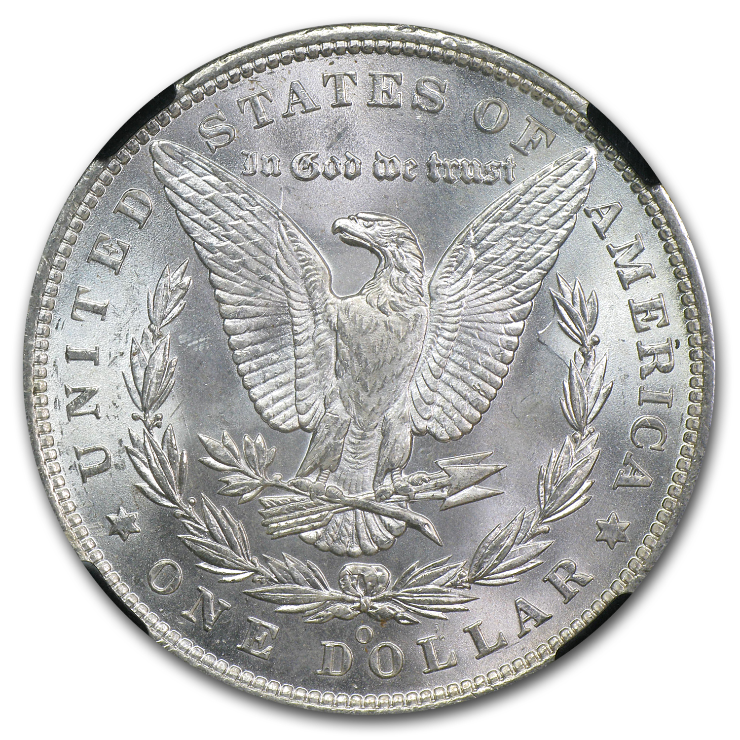 1878-1904 Morgan Dollars MS-65 NGC (25th Anniversary Holder)
