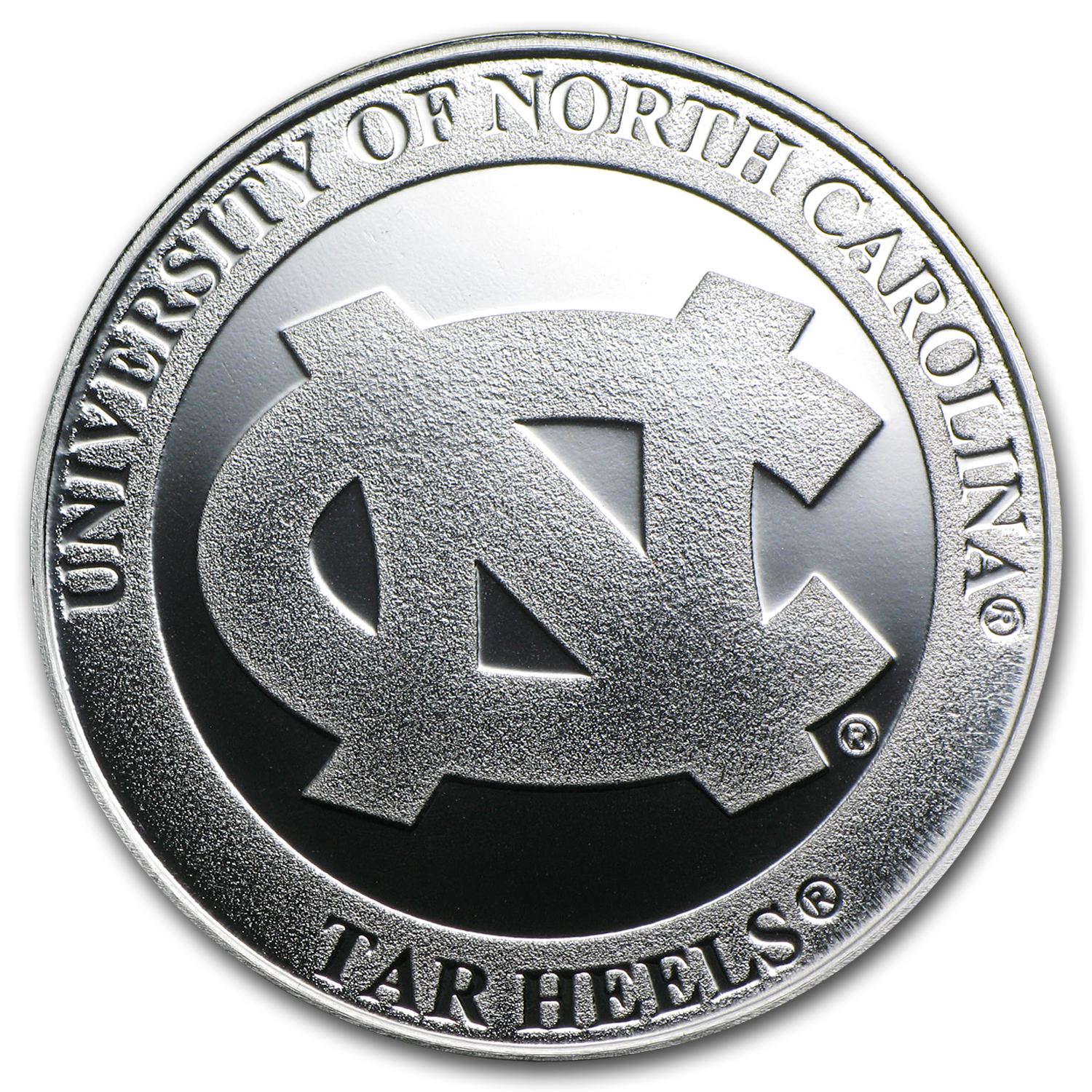 1 oz University of North Carolina Silver Round
