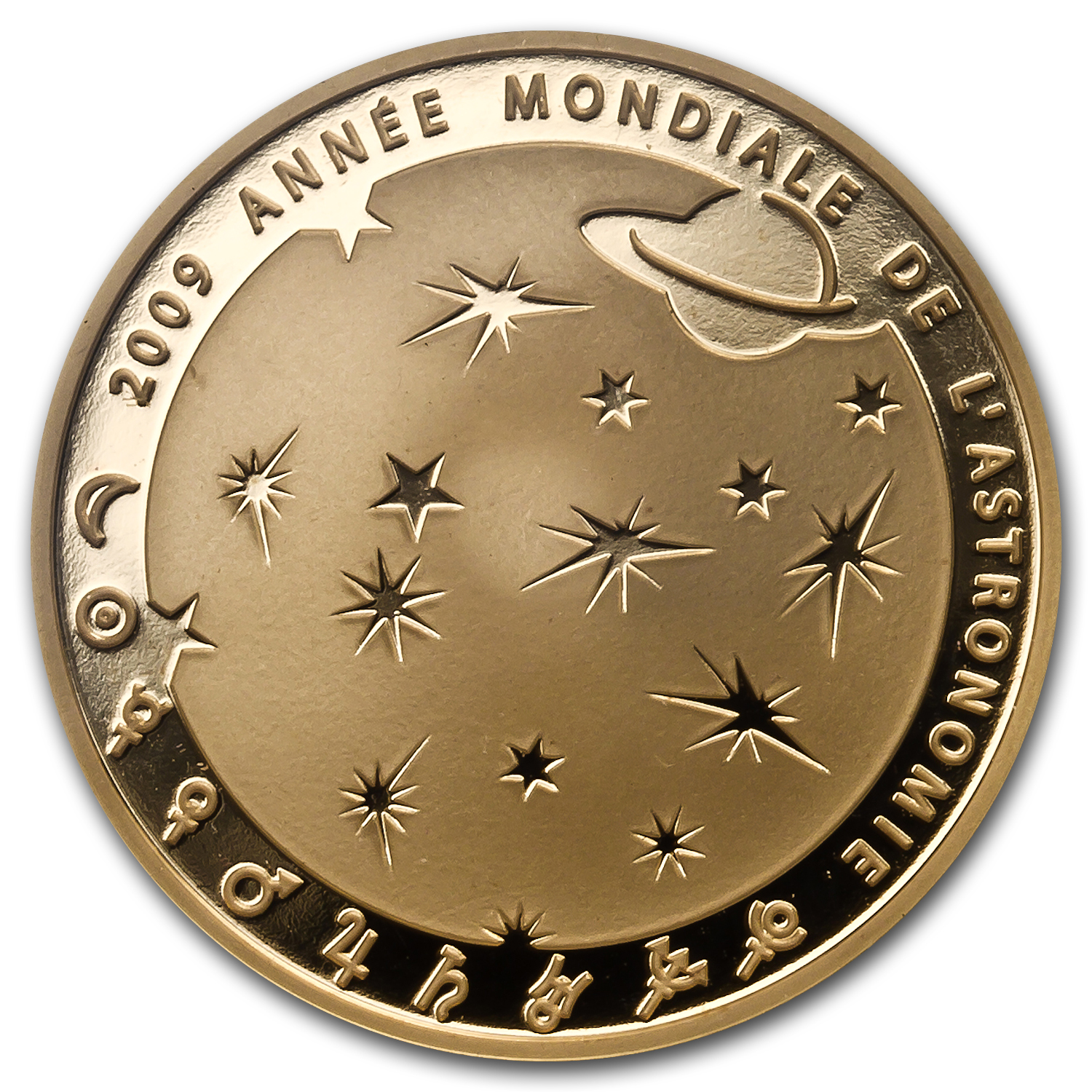 2009 1/4 oz Gold Proof International Year of Astronomy