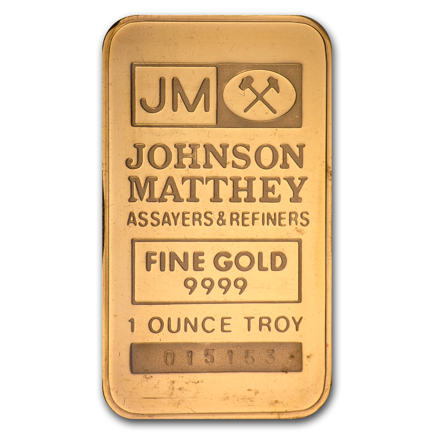 1 oz Gold Bars - Johnson Matthey (TD Bank)