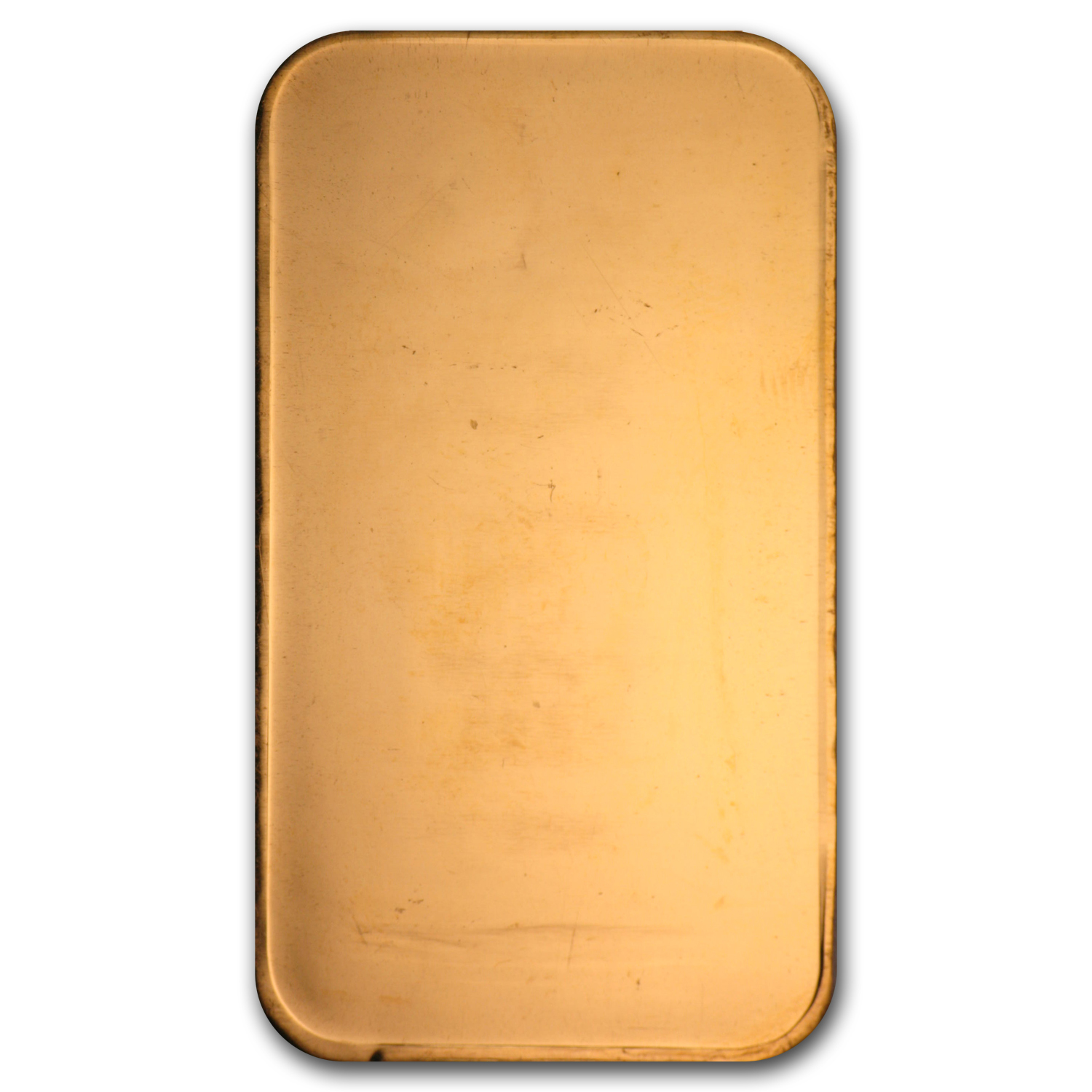 1 oz Gold Bar - Johnson Matthey (Plain Back, No Assay)