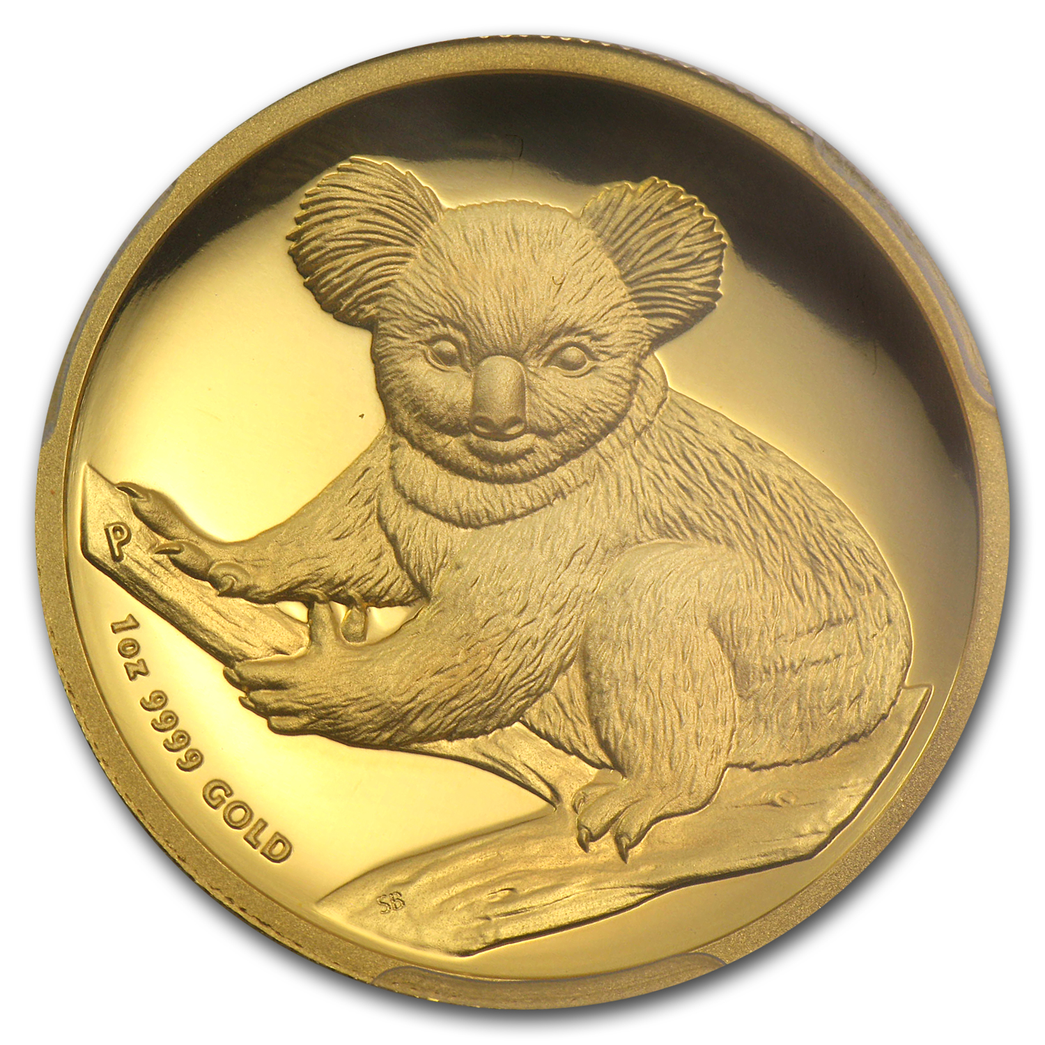 2009-P 1 oz Australian Gold Koala PR-69 PCGS (FS, High Relief)