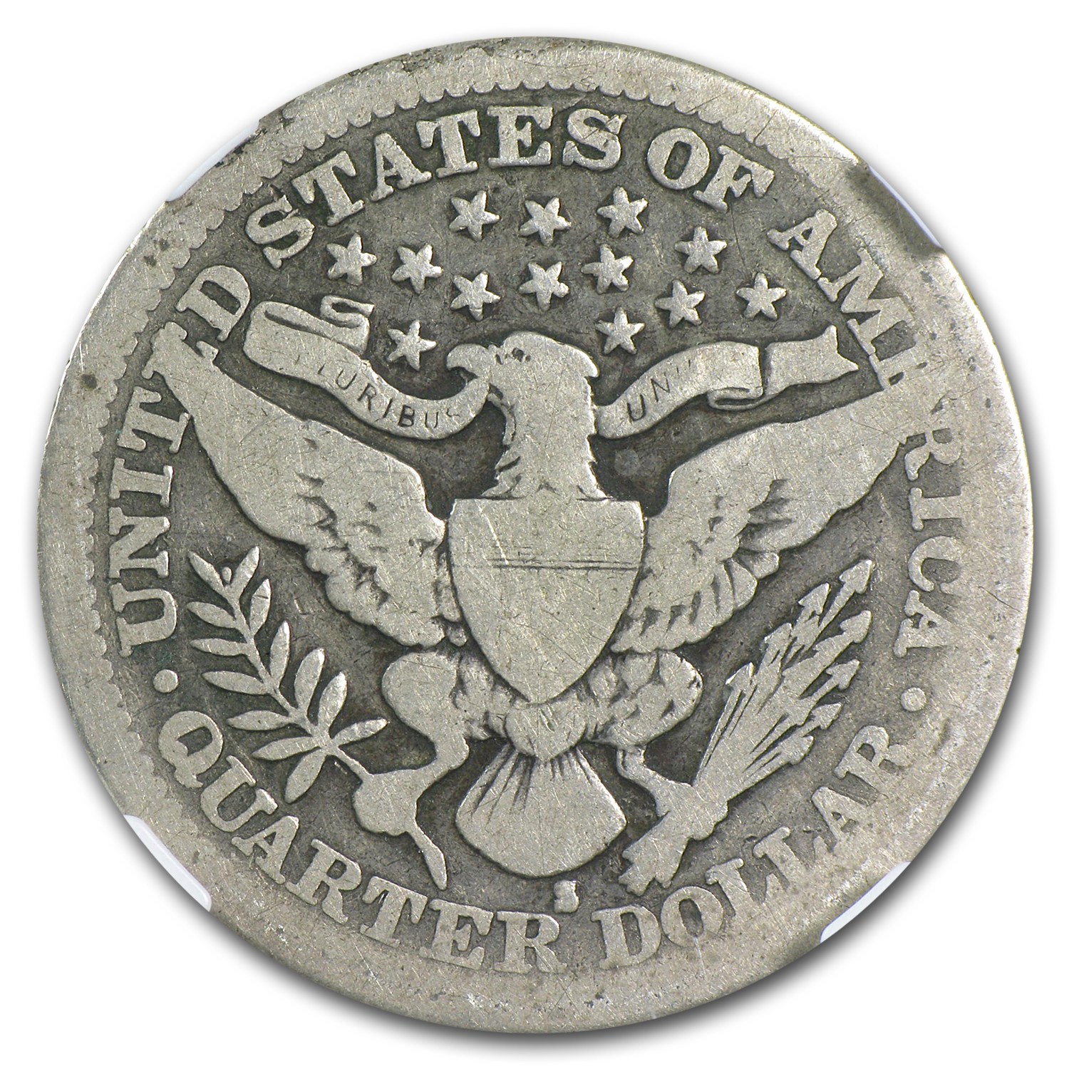 1914-S Barber Quarter Good-4 NGC