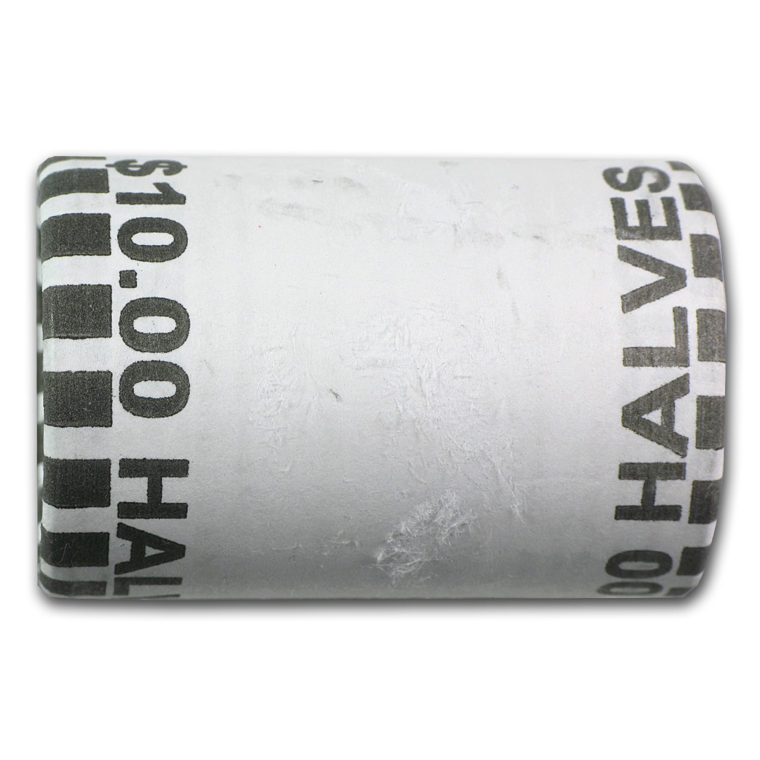 1892-93 20-ct Columbian Expo Silver Half Roll Avg Circ