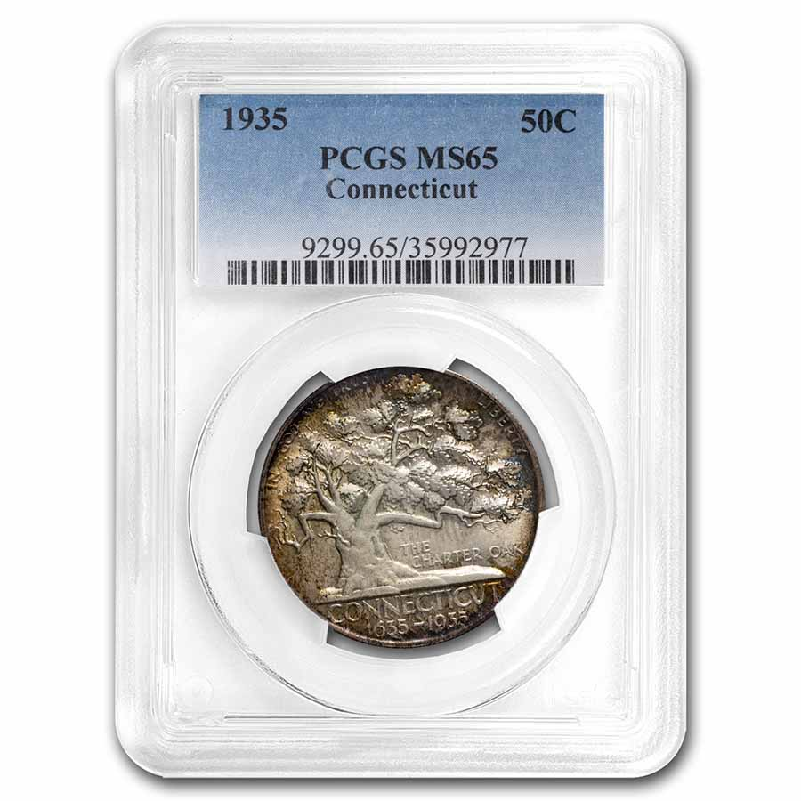1935 Connecticut Half Dollar MS-65 PCGS