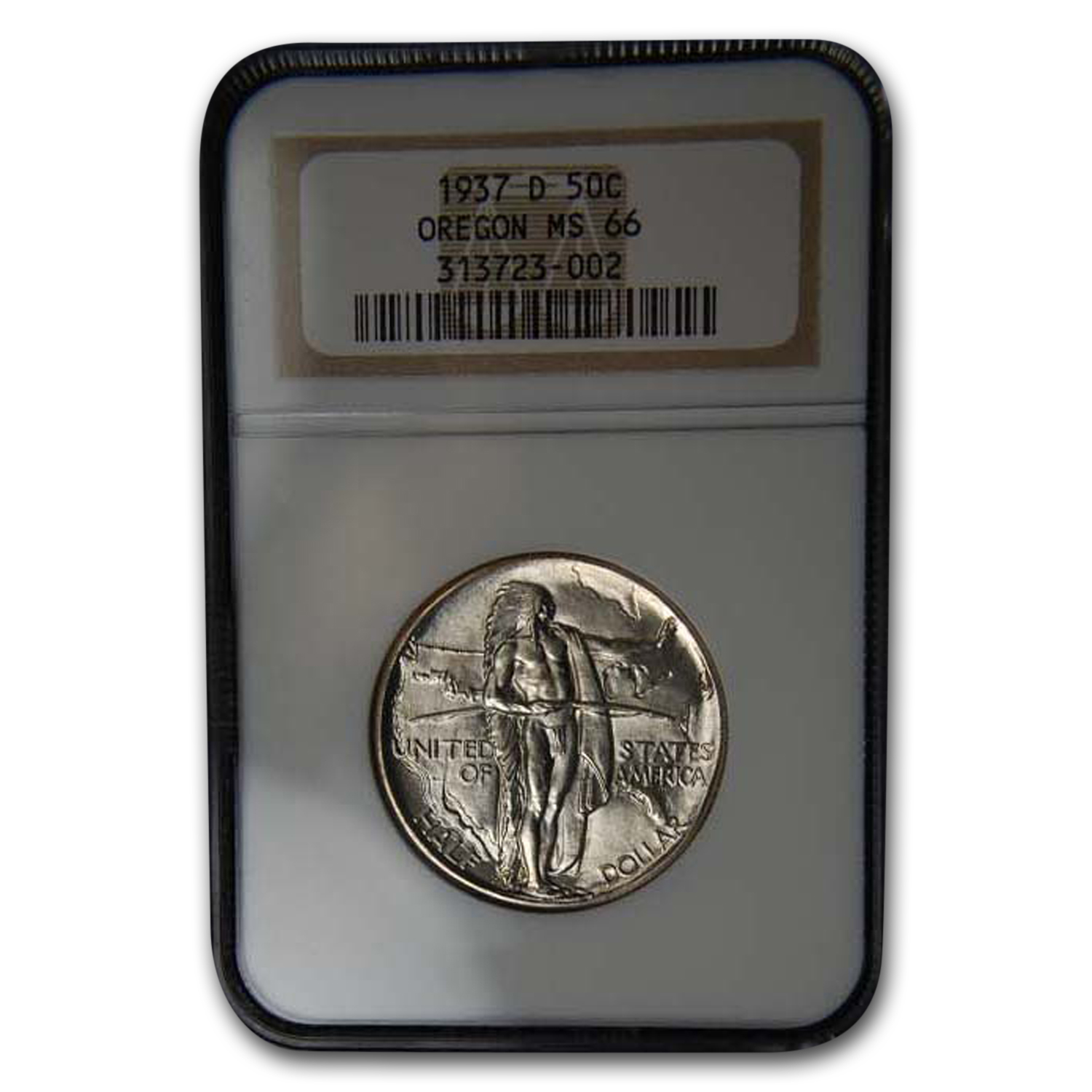 1937-D Oregon Commemorative MS-66 NGC