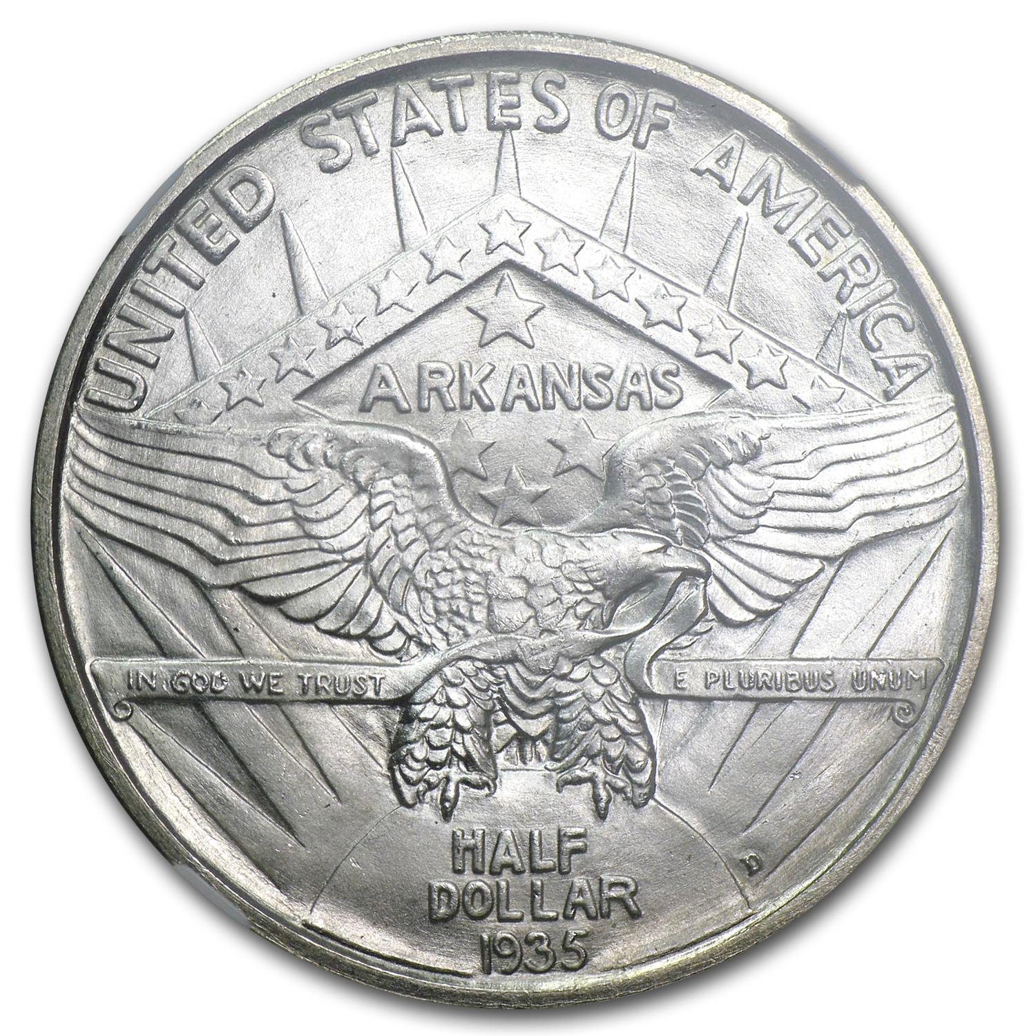 1935-D Arkansas MS-66 NGC