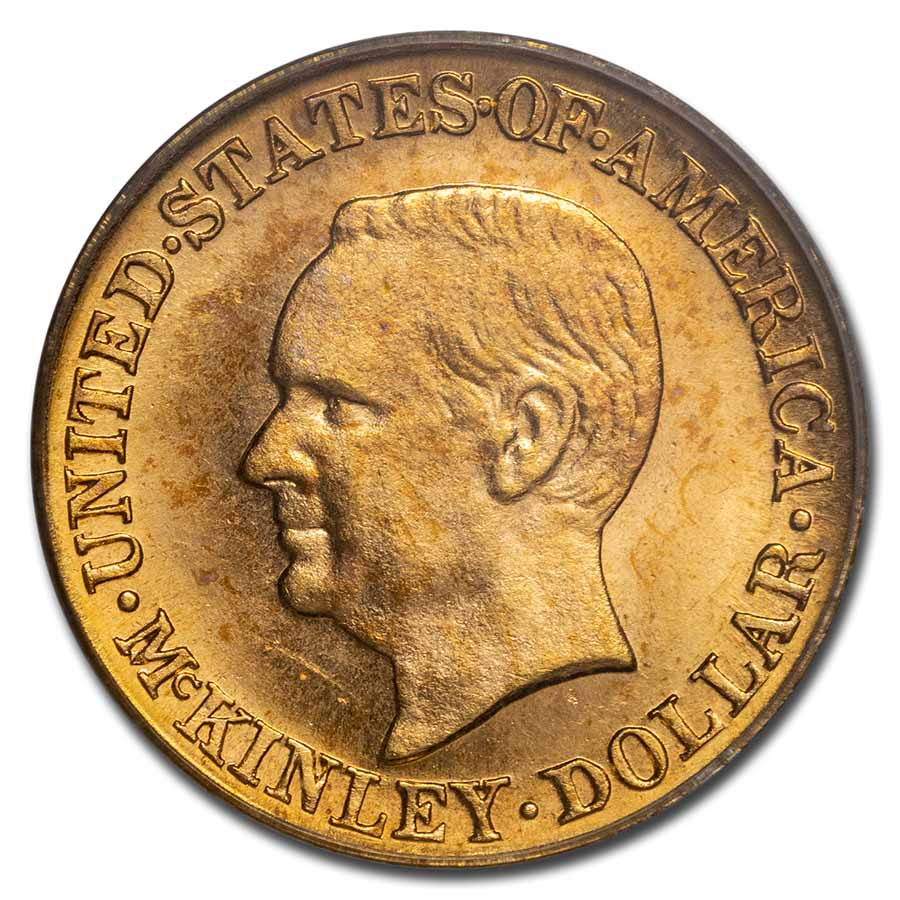 1916 Gold $1.00 McKinley MS-64 PCGS