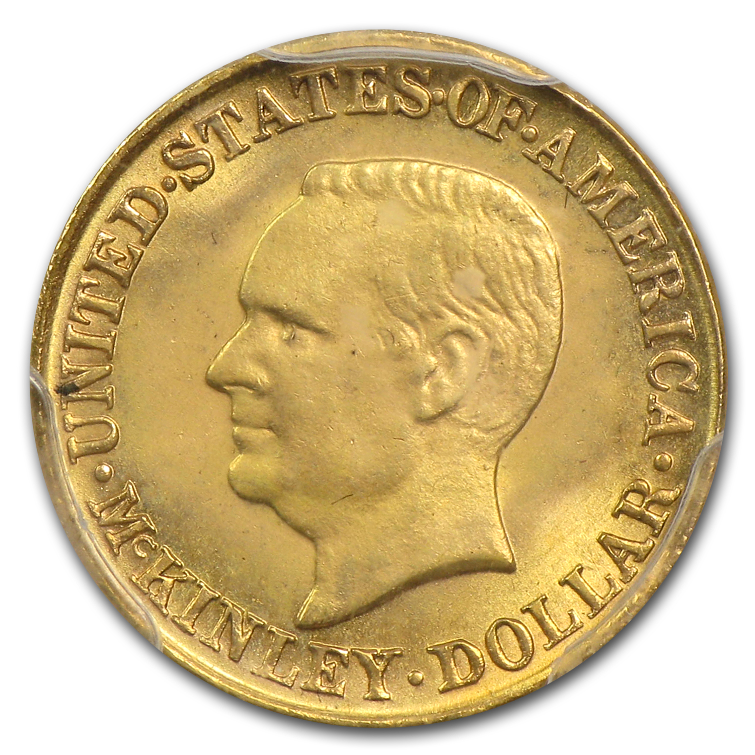 1917 Gold $1.00 McKinley MS-64 PCGS