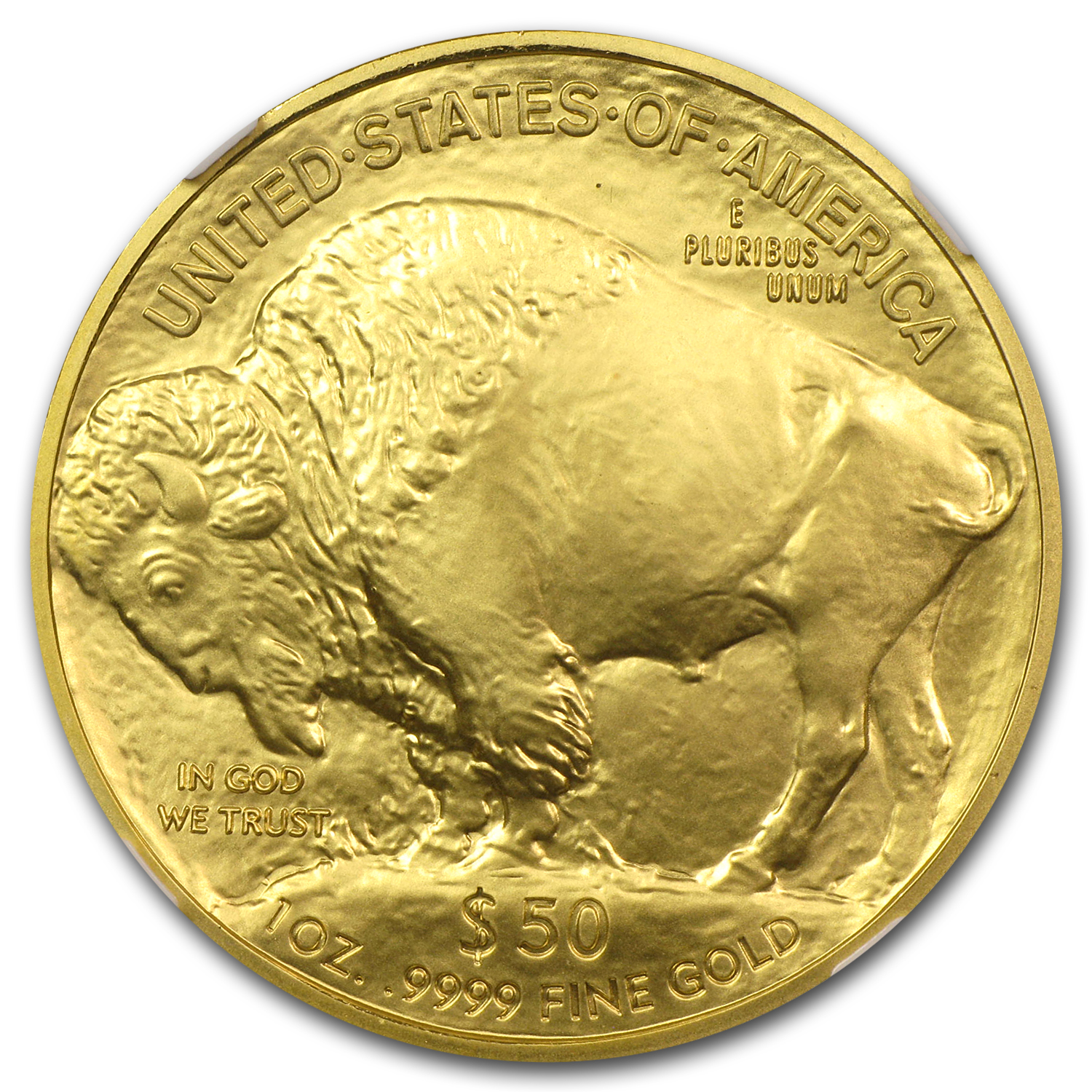 2008-W 1 oz Gold Buffalo MS-69 NGC