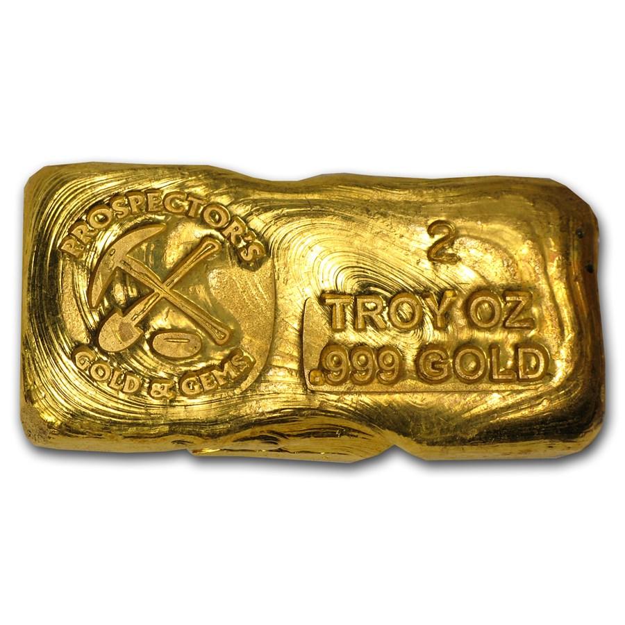 2 Oz Gold Bar Prospector S Gold Amp Gems All Other
