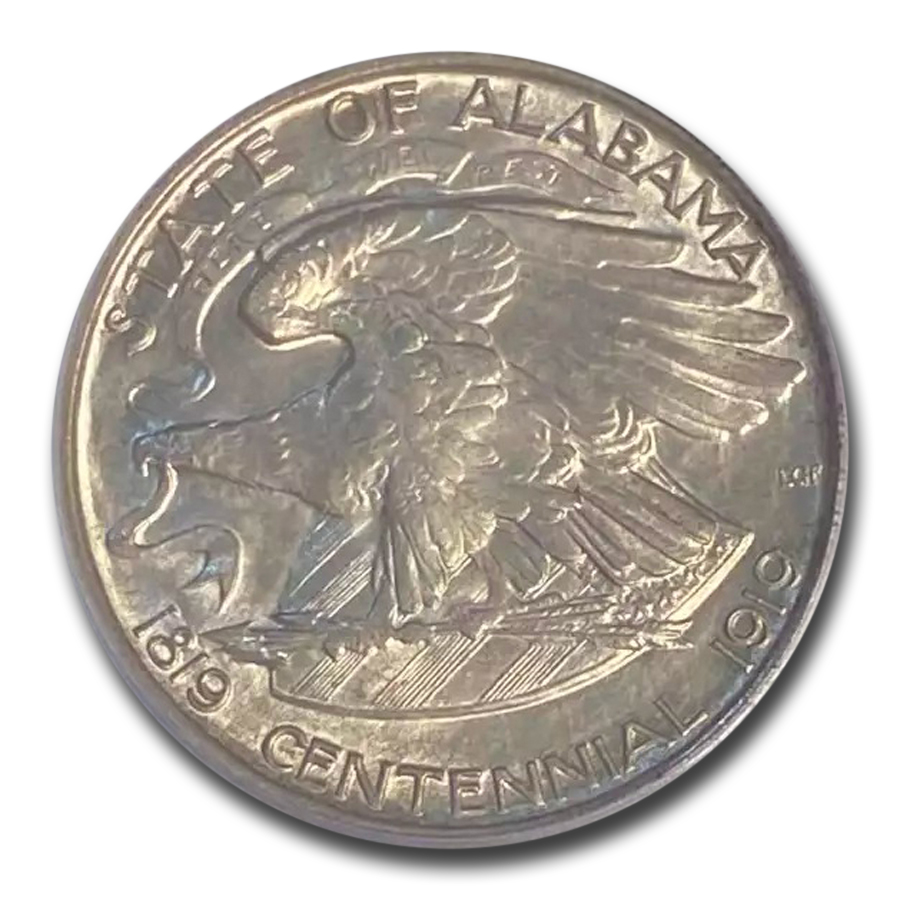 1921 2X2 Alabama MS-63 PCGS