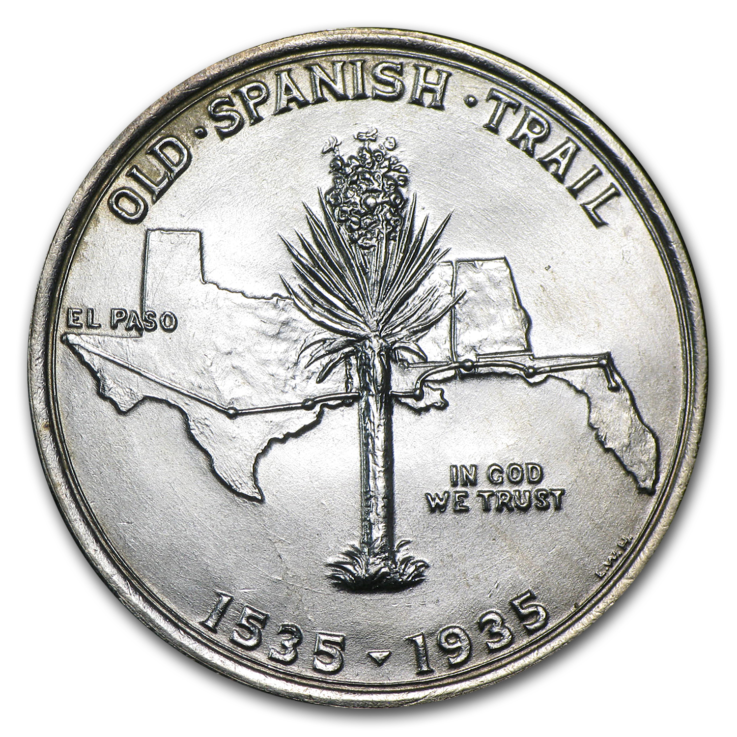 1935 Spanish Trail Half AU