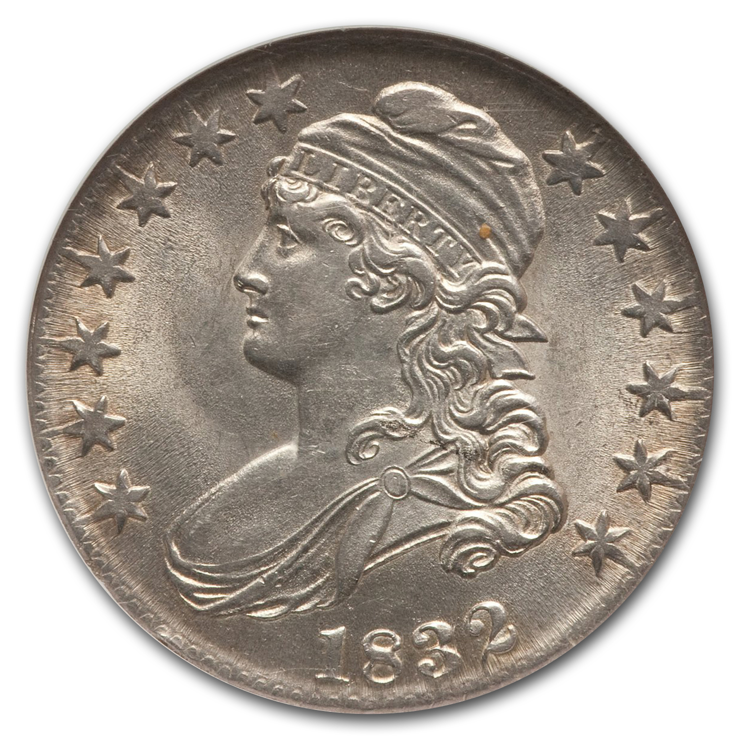 1832 Capped Bust Half Dollar MS-62 NGC