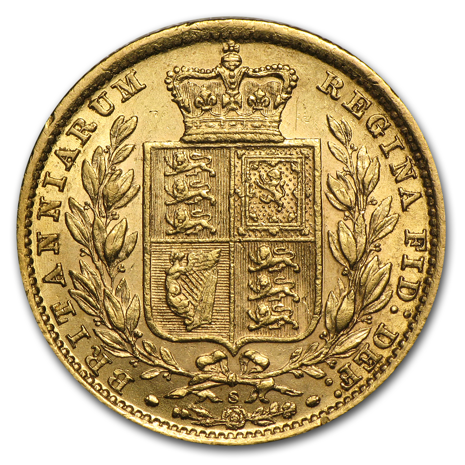 Australia 1881 S Sovereign Gold Victoria AU