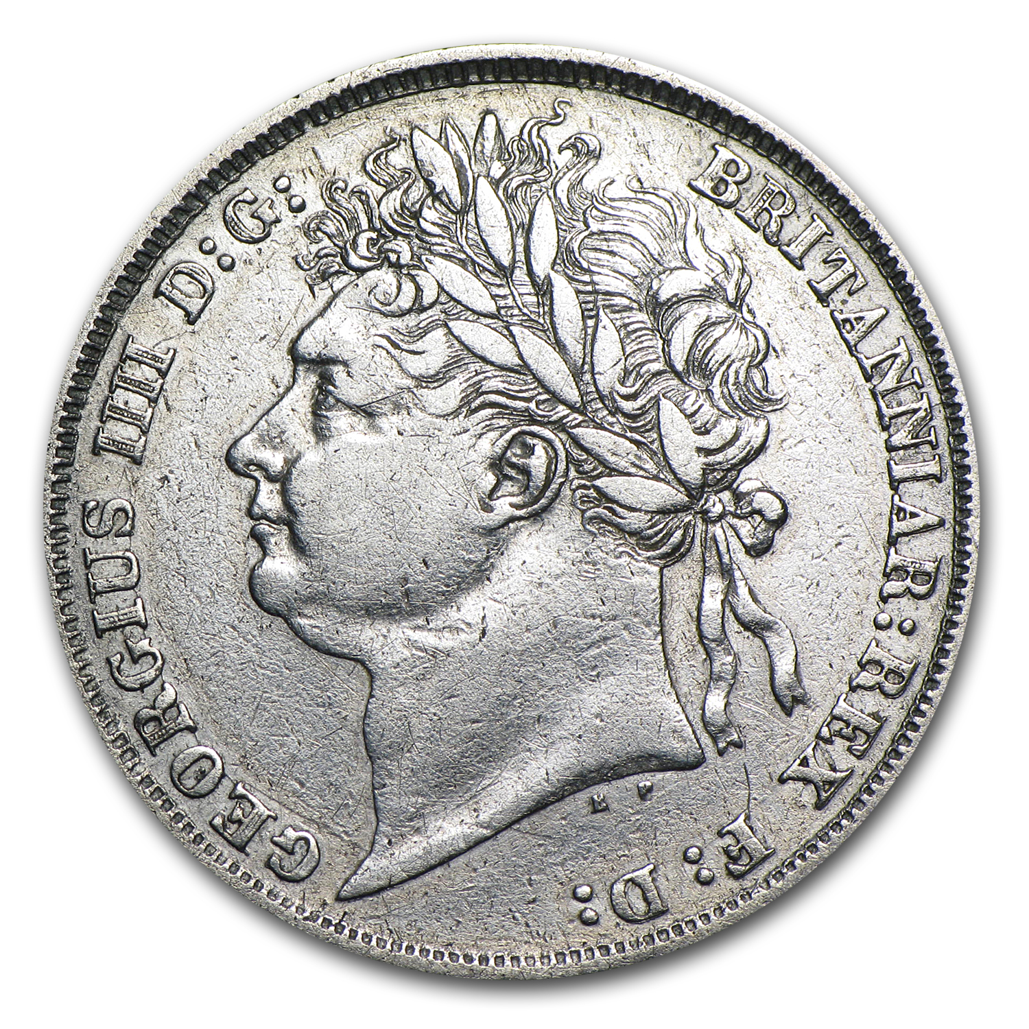 1825 Great Britain Shilling George IV EF Details