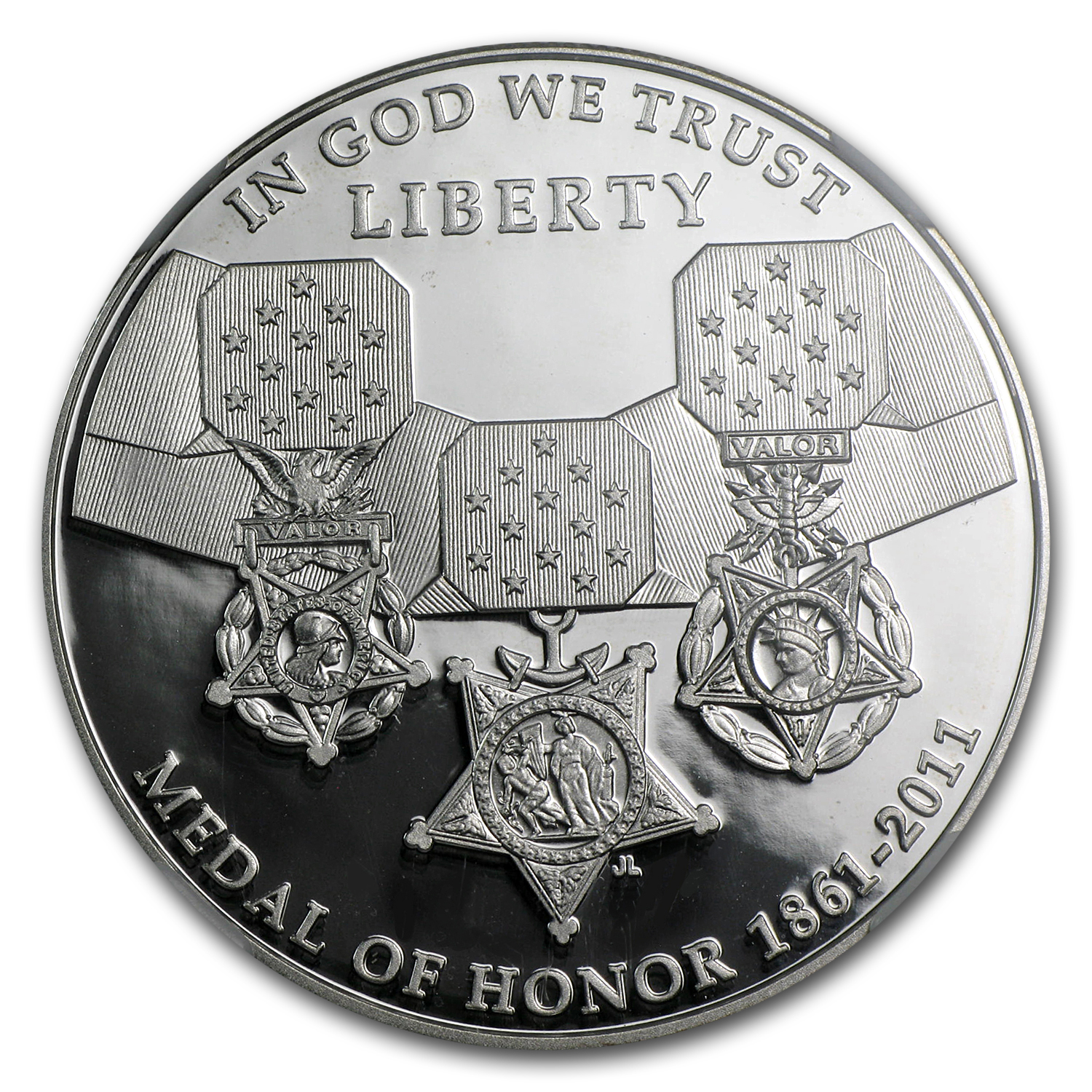 2011-P Medal of Honor $1 Silver Commemorative PF-69 UCAM NGC