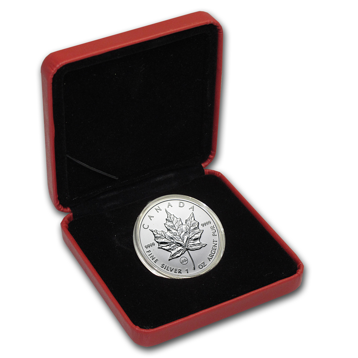 2009 Canada 1 oz Silver Maple Leaf Tower Bridge Privy