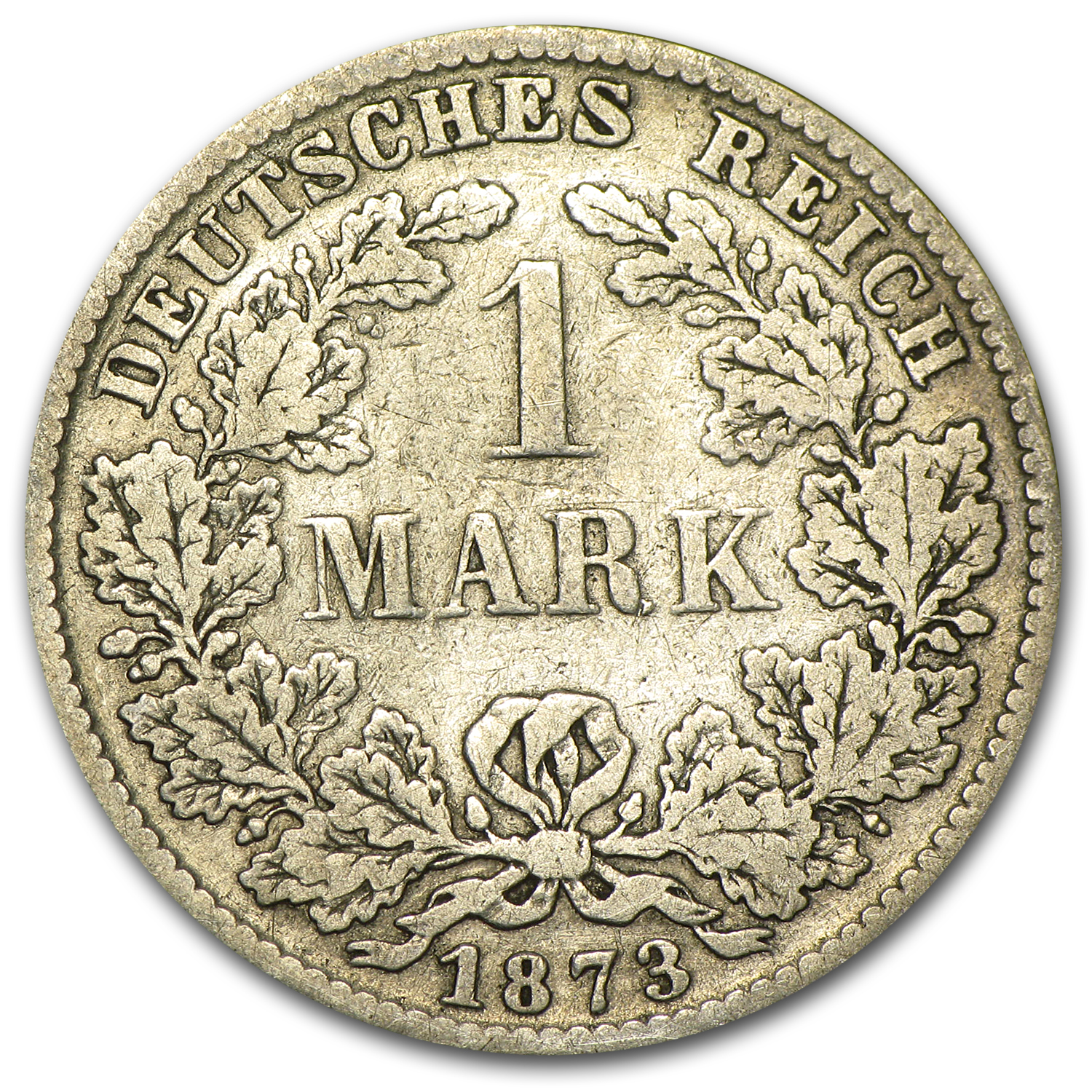 1873-C Germany Silver Mark Fine