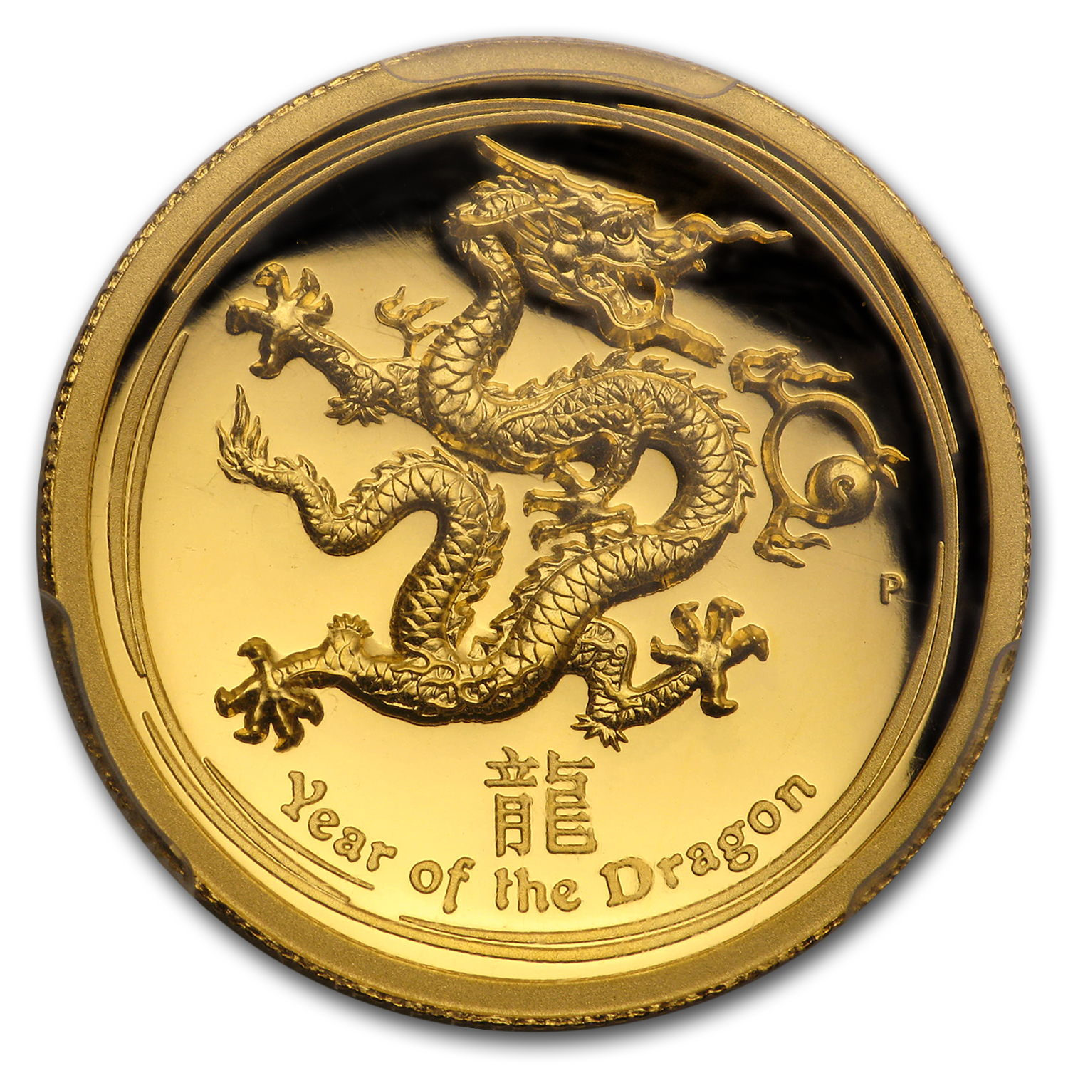 2012 1 oz Gold Dragon PR-69 PCGS (Ultra High Relief)