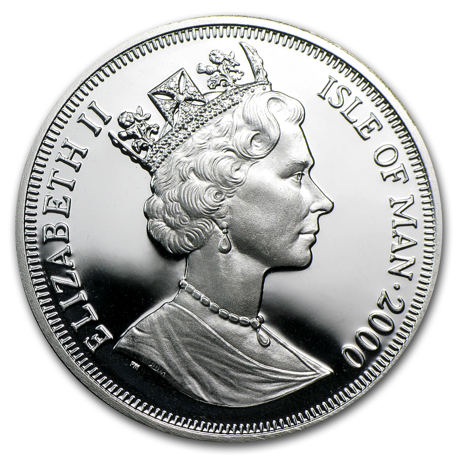 2000 Isle of Man Silver 1 Crown Proof (Millennium)