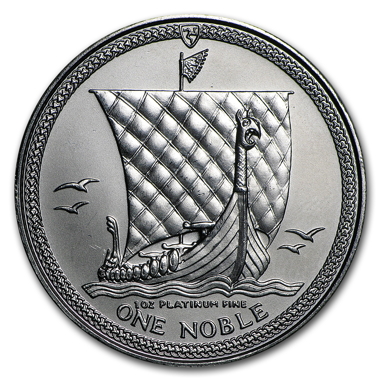 1984 Isle of Man 1 oz Platinum Noble BU or Proof