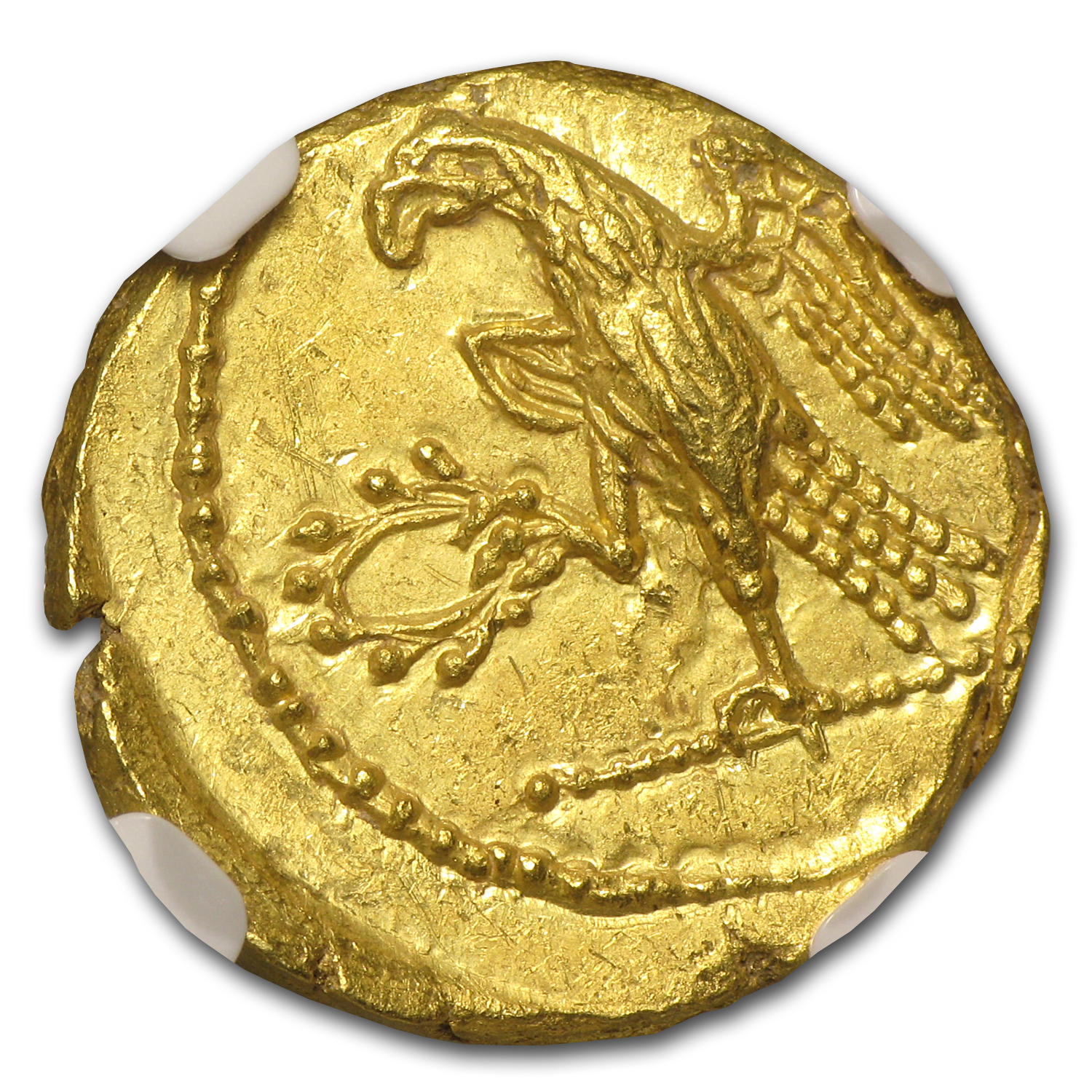 Thracian/Scythian Gold Stater MS NGC (1st Century BC)