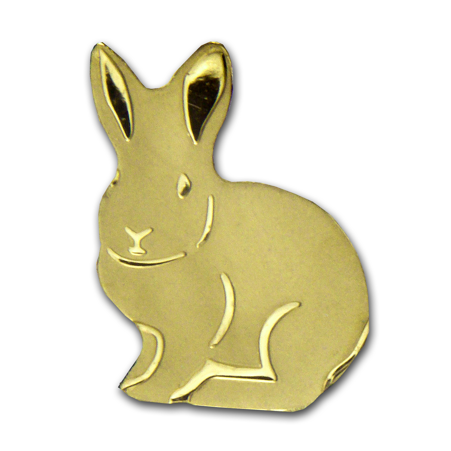 Palau 1/2 gram Gold $1 Golden Rabbit Coin