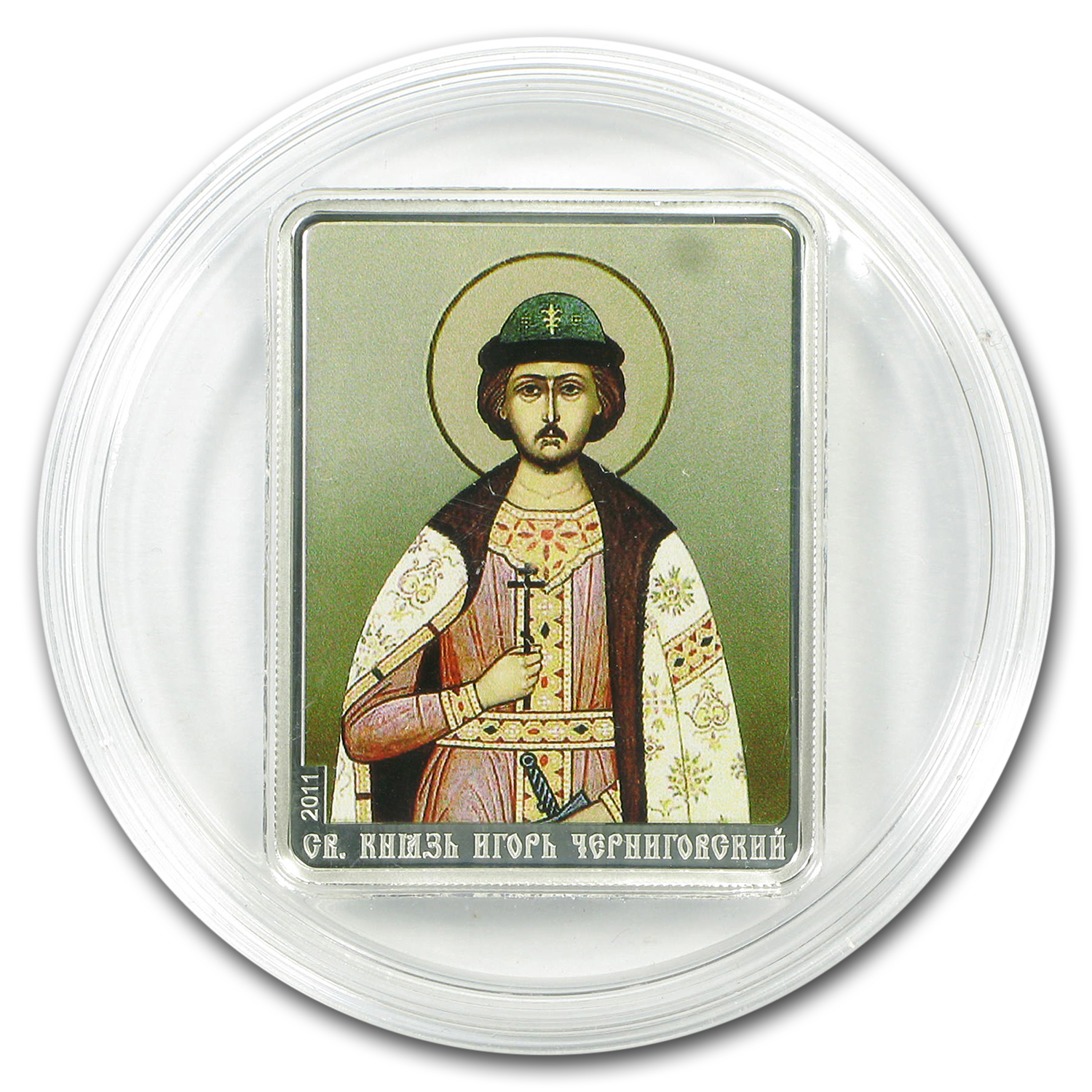 2011 Cook Islands $5 Patron Saints St. Igor