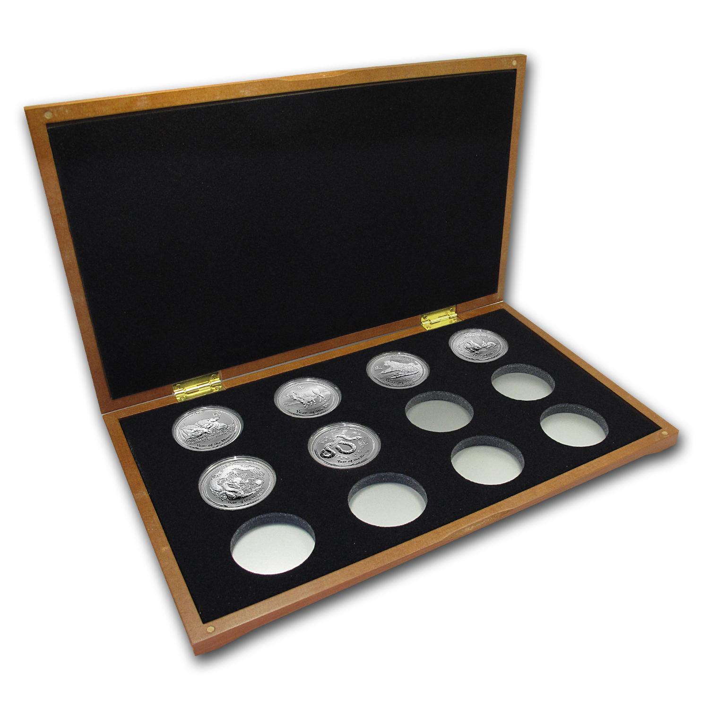 2008 2019 Australia 6 Coin 1 Oz Silver Starter Set Bu